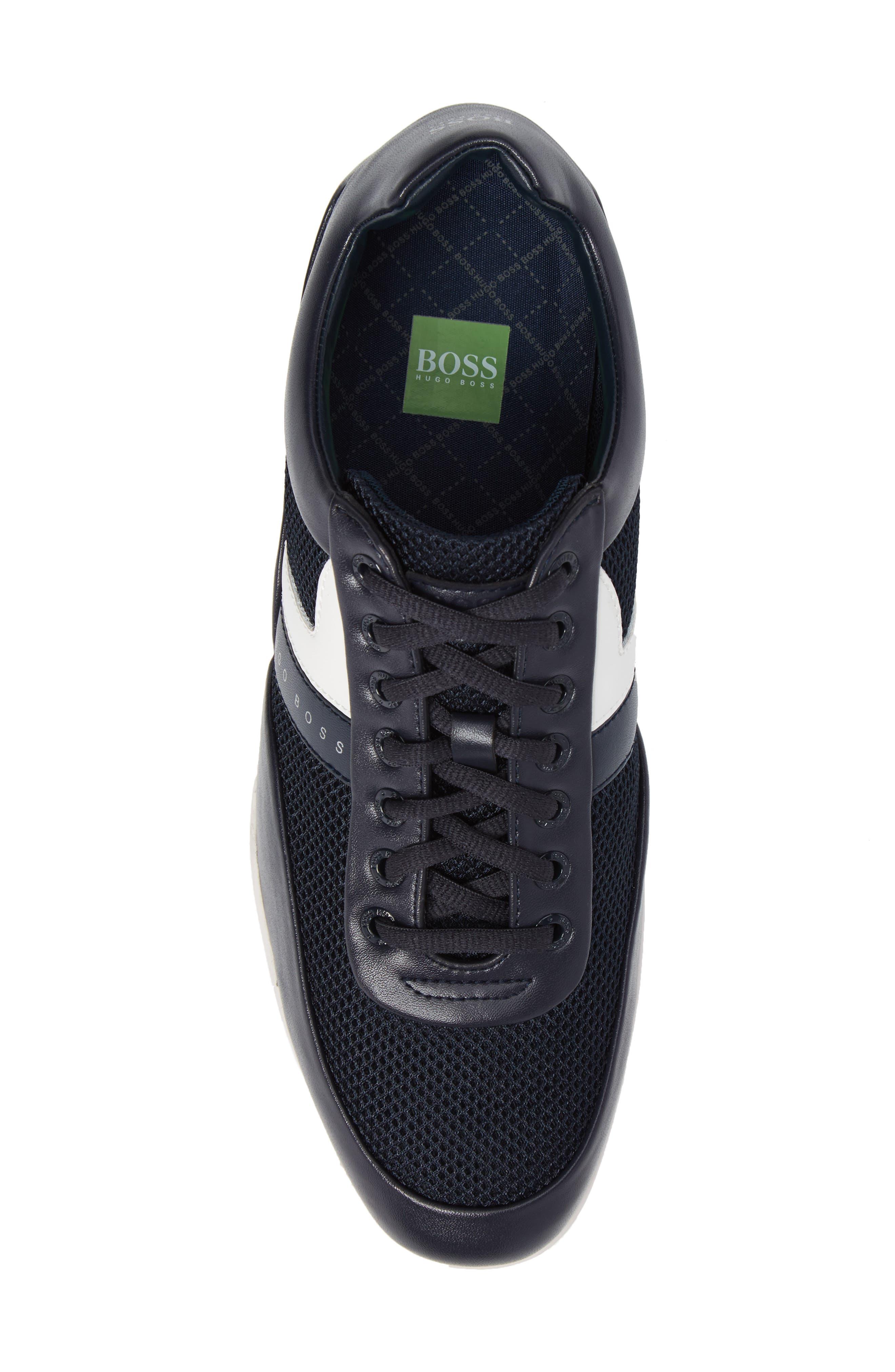 Green Space Mesh Sneaker,                             Alternate thumbnail 5, color,                             405