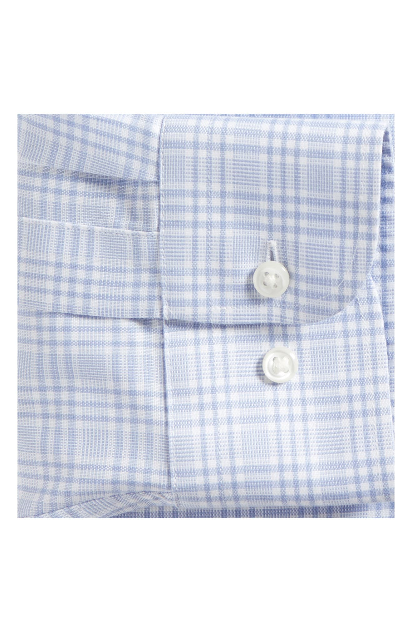 Smartcare<sup>™</sup> Traditional Fit Plaid Dress Shirt,                             Alternate thumbnail 12, color,