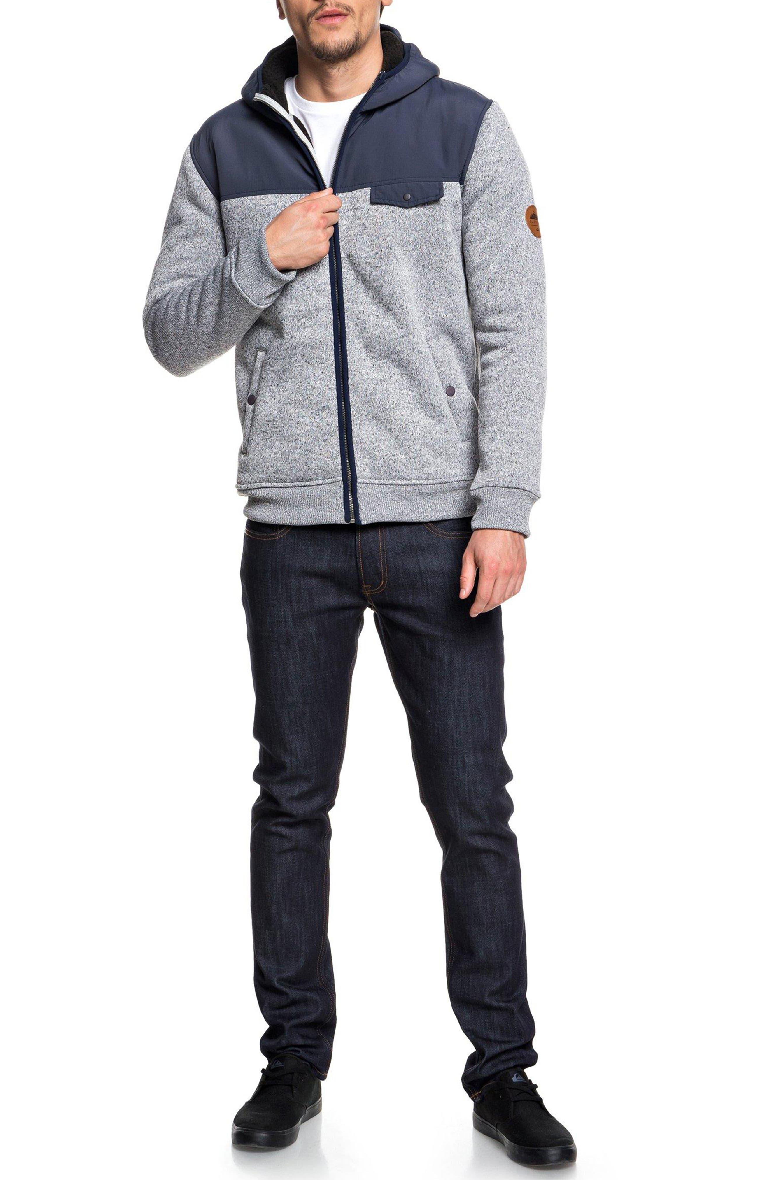 Keller Mix Hooded Jacket,                             Alternate thumbnail 3, color,                             401