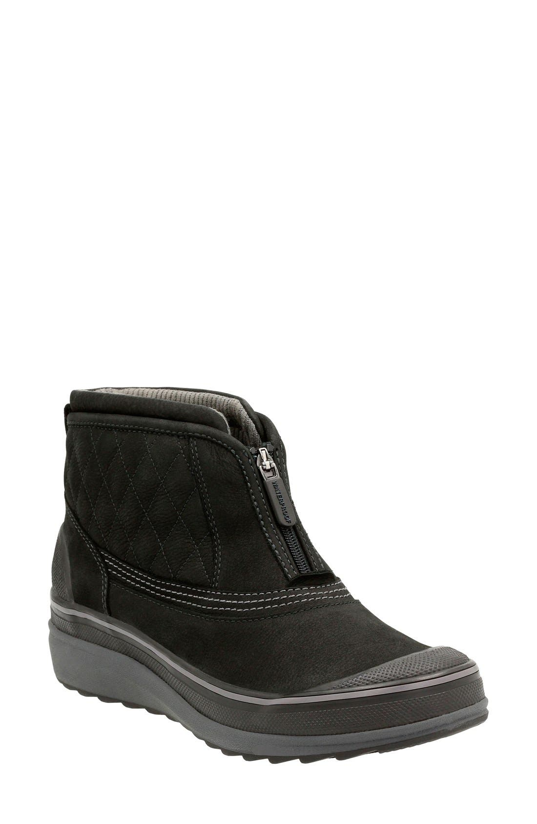 'Muckers Swale' Waterproof Boot,                             Main thumbnail 1, color,                             002
