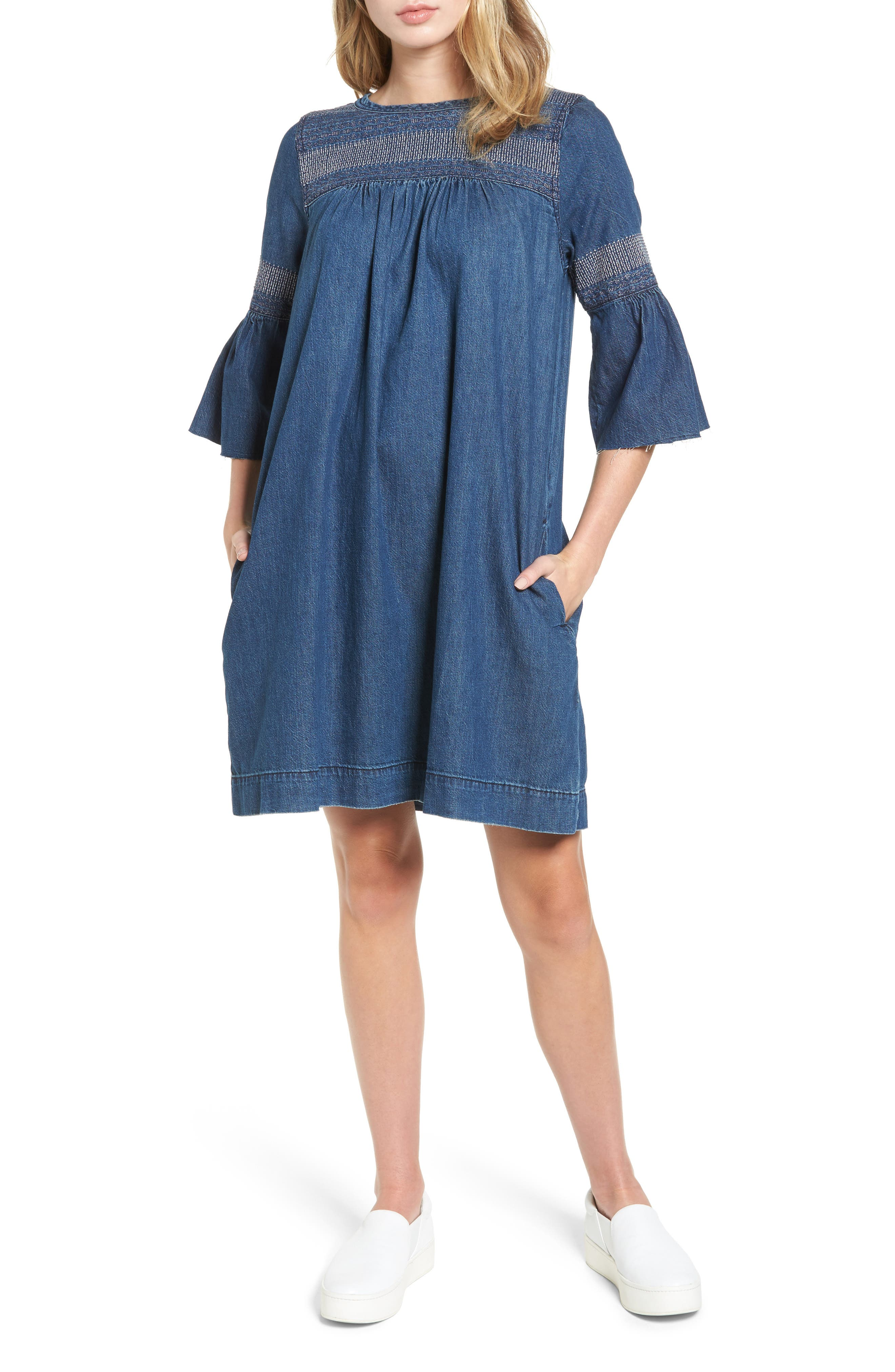 The Abigail Embroidered Dress,                         Main,                         color,