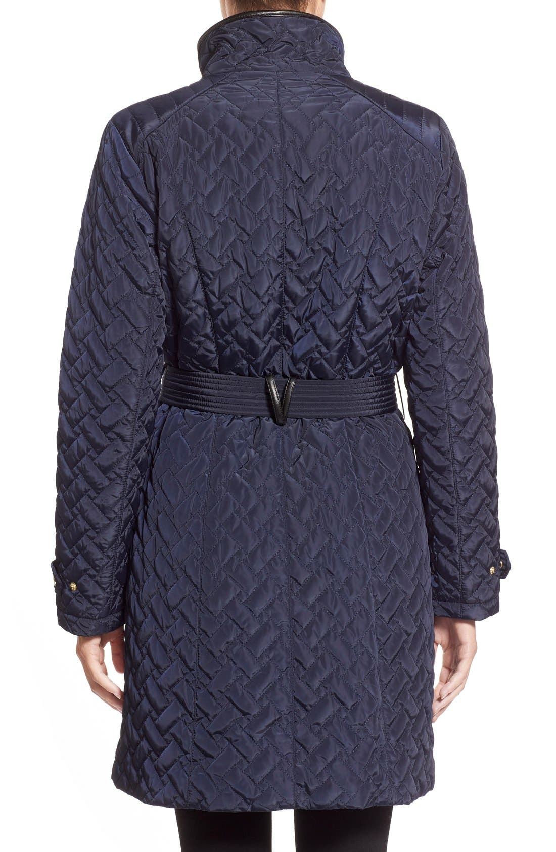 Belted Quilted Coat,                             Alternate thumbnail 29, color,