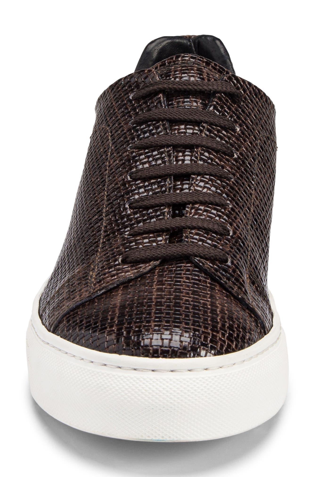 Wimbledon Sneaker,                             Alternate thumbnail 4, color,                             TESTA DI MORO