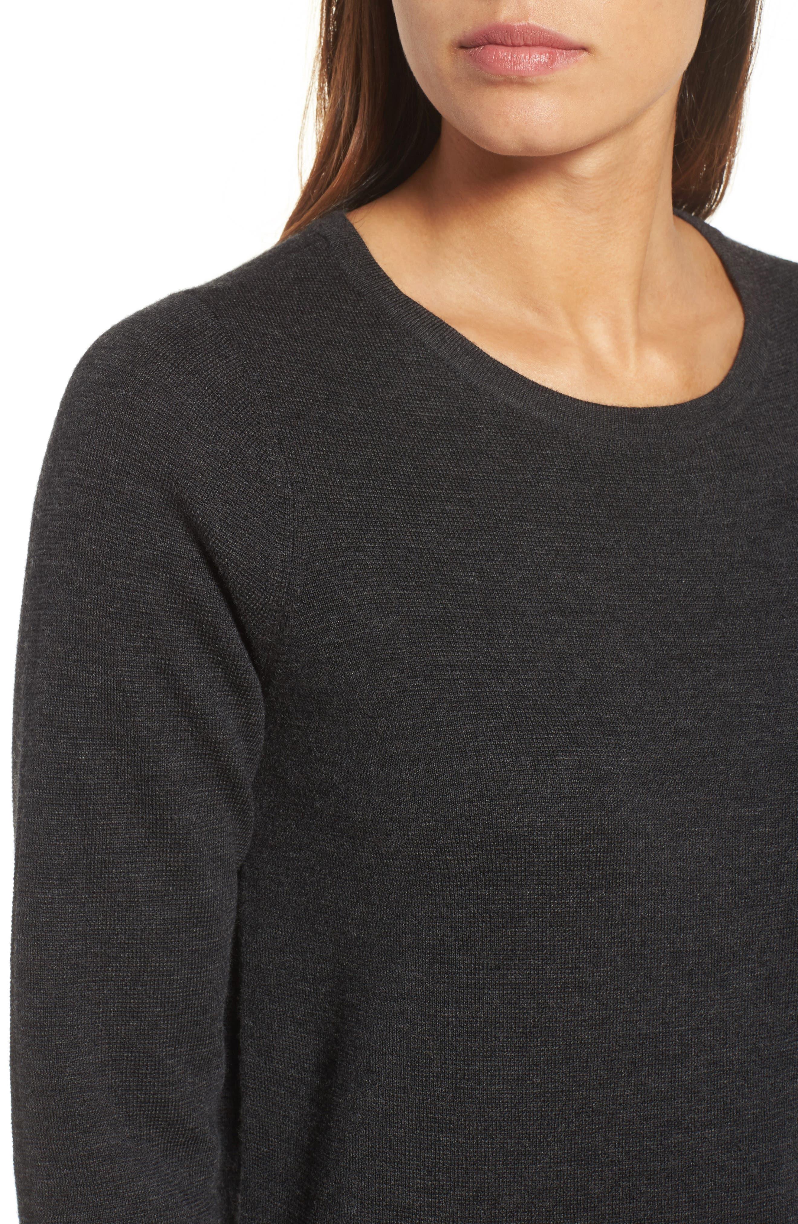 Merino Wool Sweater Dress,                             Alternate thumbnail 14, color,