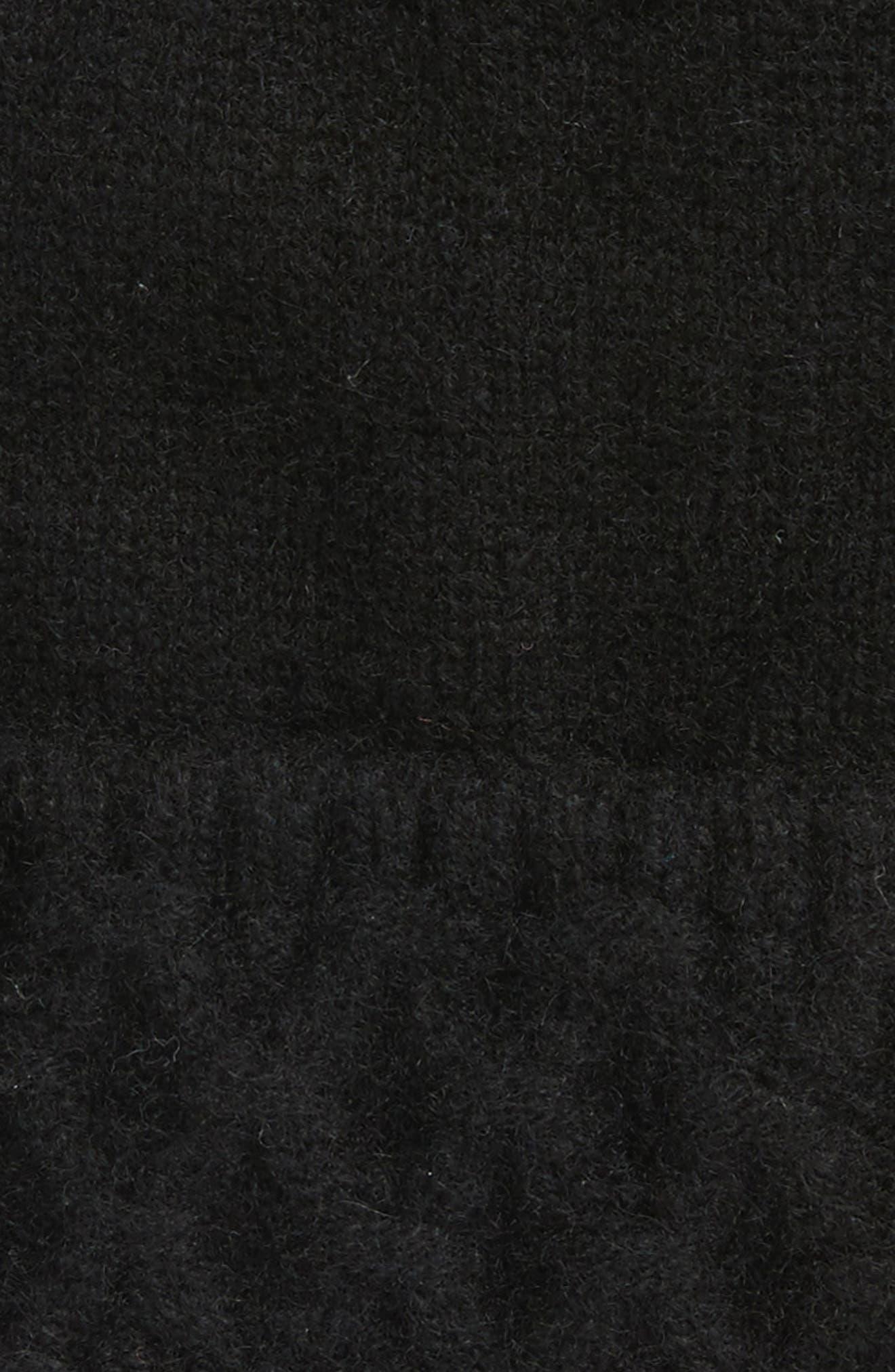 Fine Cashmere Beanie,                             Alternate thumbnail 2, color,                             001
