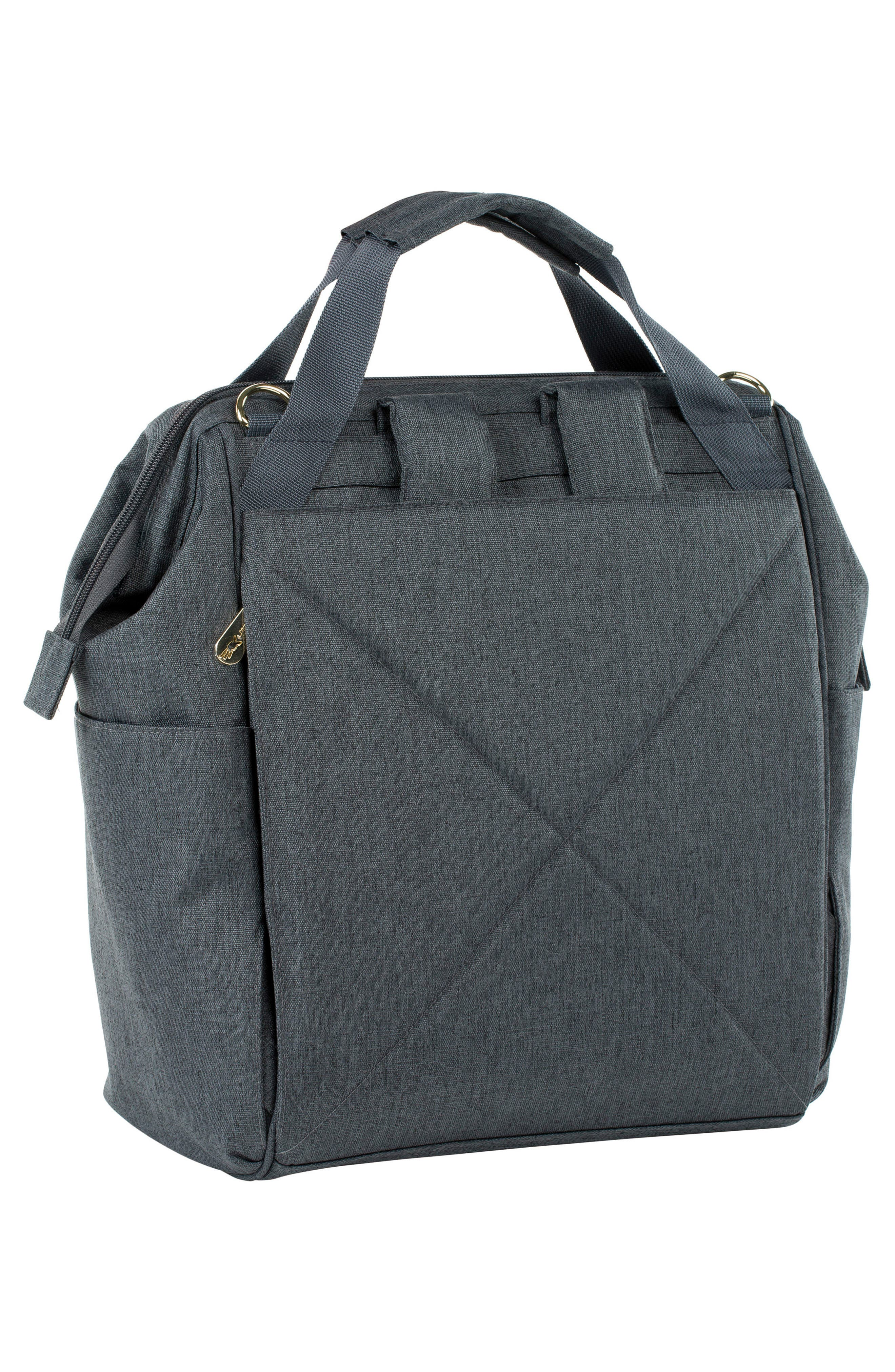 Glam Goldie Diaper Backpack,                             Alternate thumbnail 2, color,                             ANTHRACITE