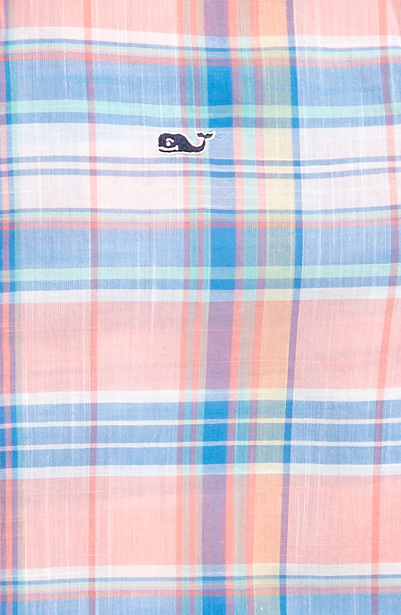 VINEYARD VINES,                             Smith Point Plaid Whale Shirt,                             Alternate thumbnail 2, color,                             681