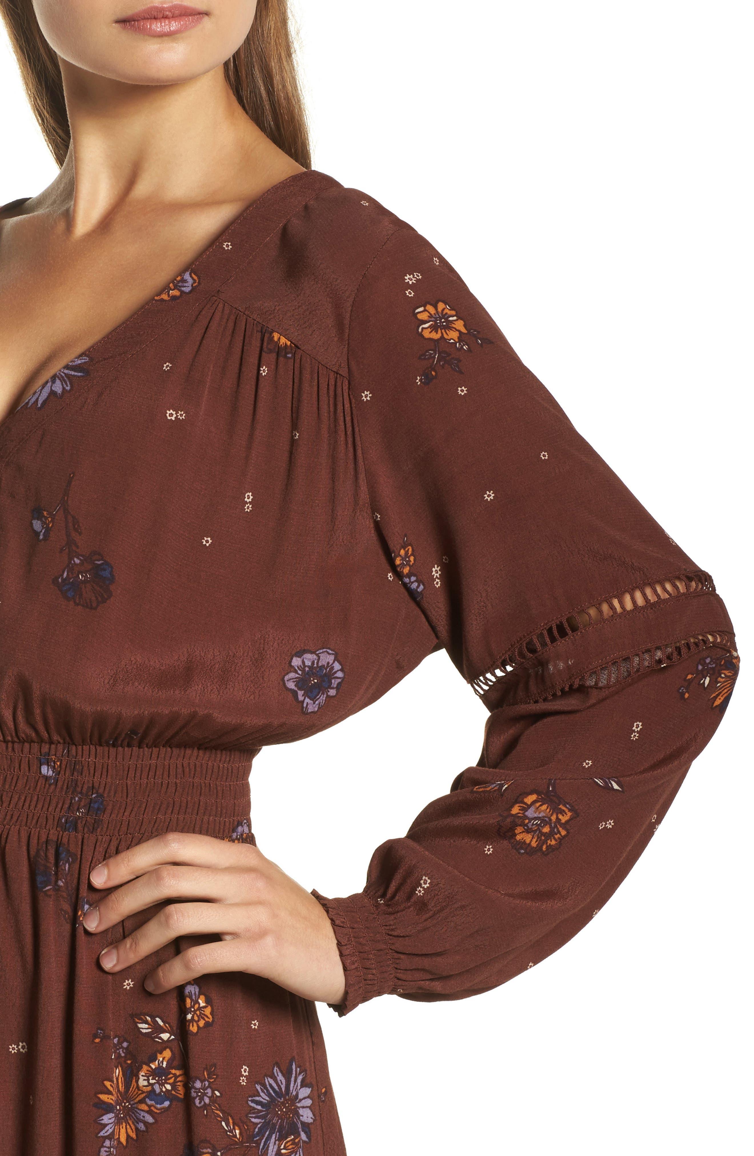 Jenny Maxi Dress,                             Alternate thumbnail 4, color,