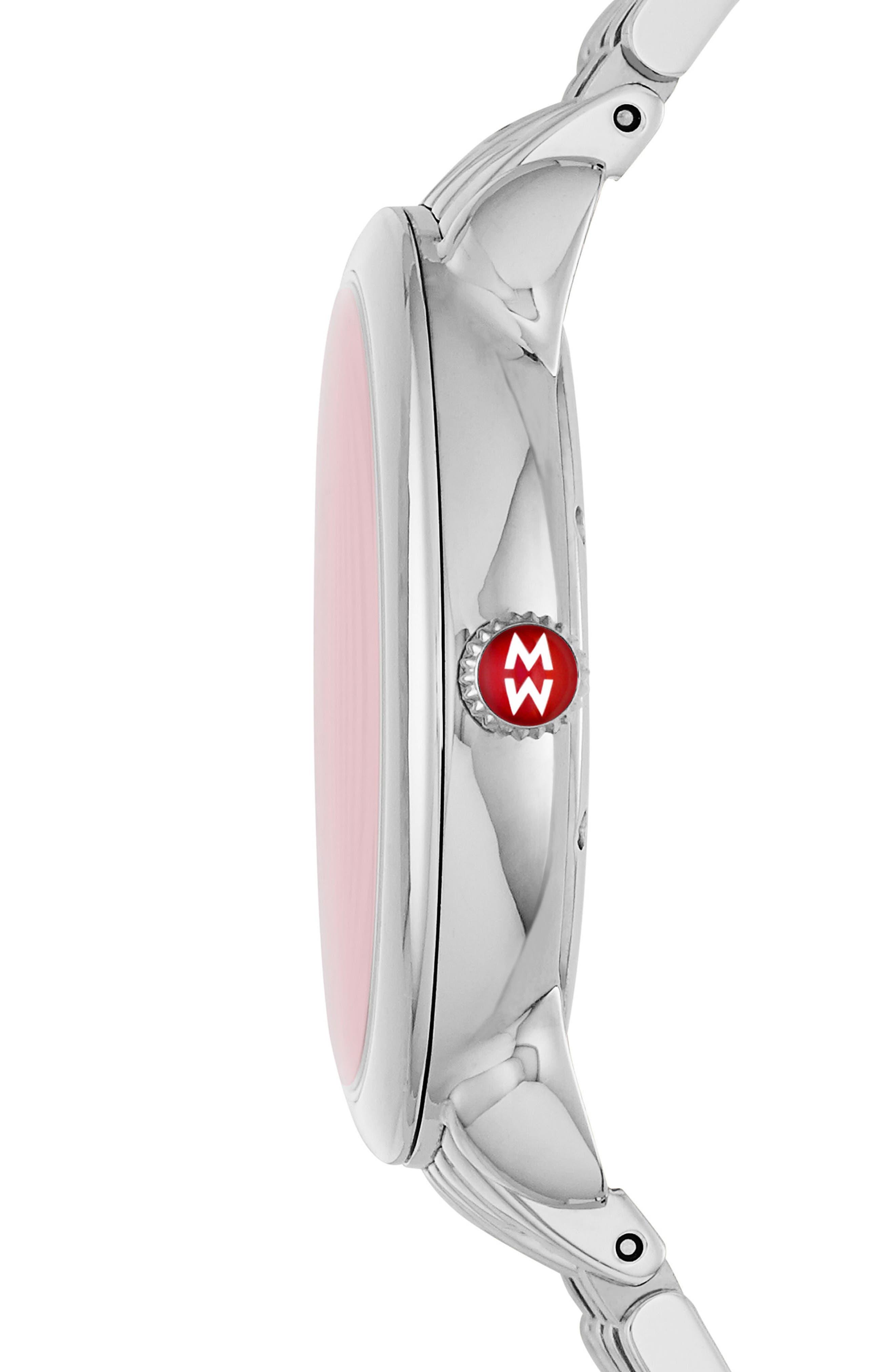 Serein Diamond Dial Watch Case, 36mm x 34mm,                             Alternate thumbnail 4, color,
