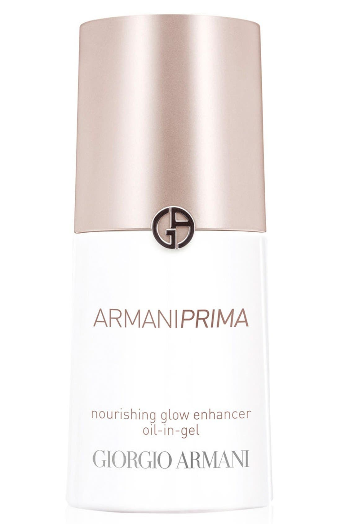 'Prima' Nourishing Glow Enhancer Oil-in-Gel,                             Main thumbnail 1, color,                             NO COLOR