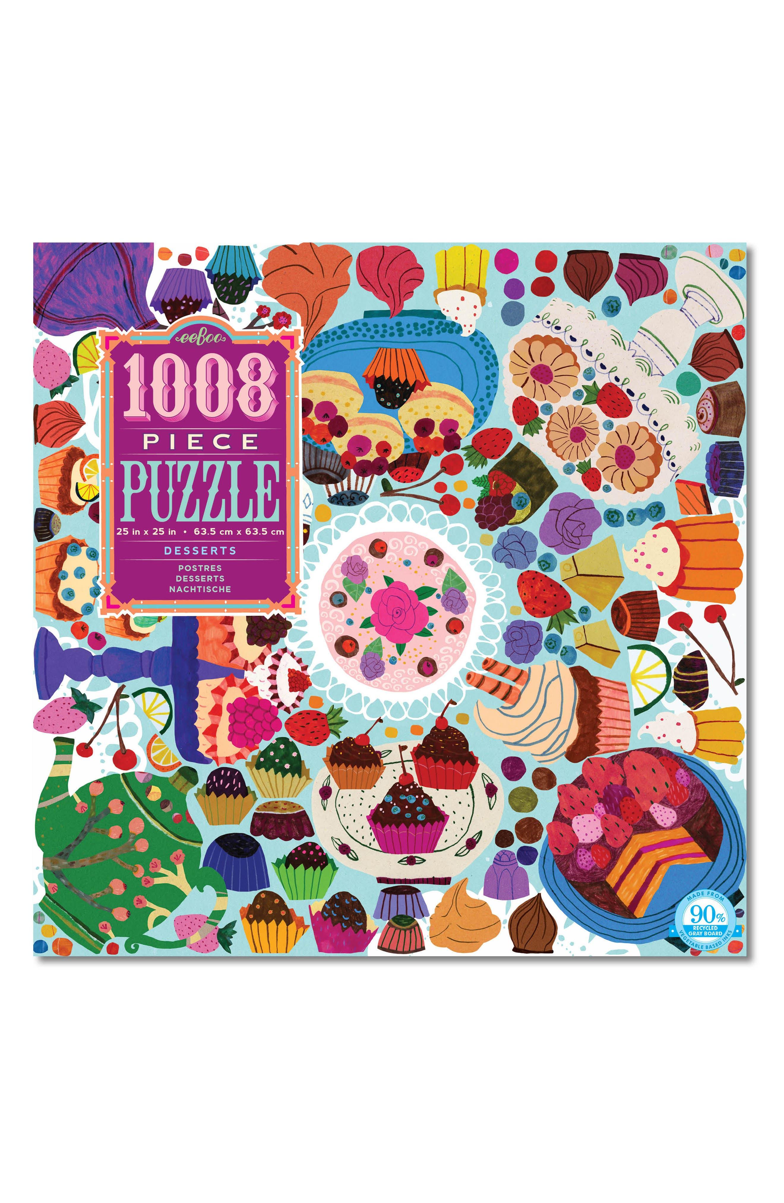 Desserts 1008-Piece Puzzle,                         Main,                         color, 400