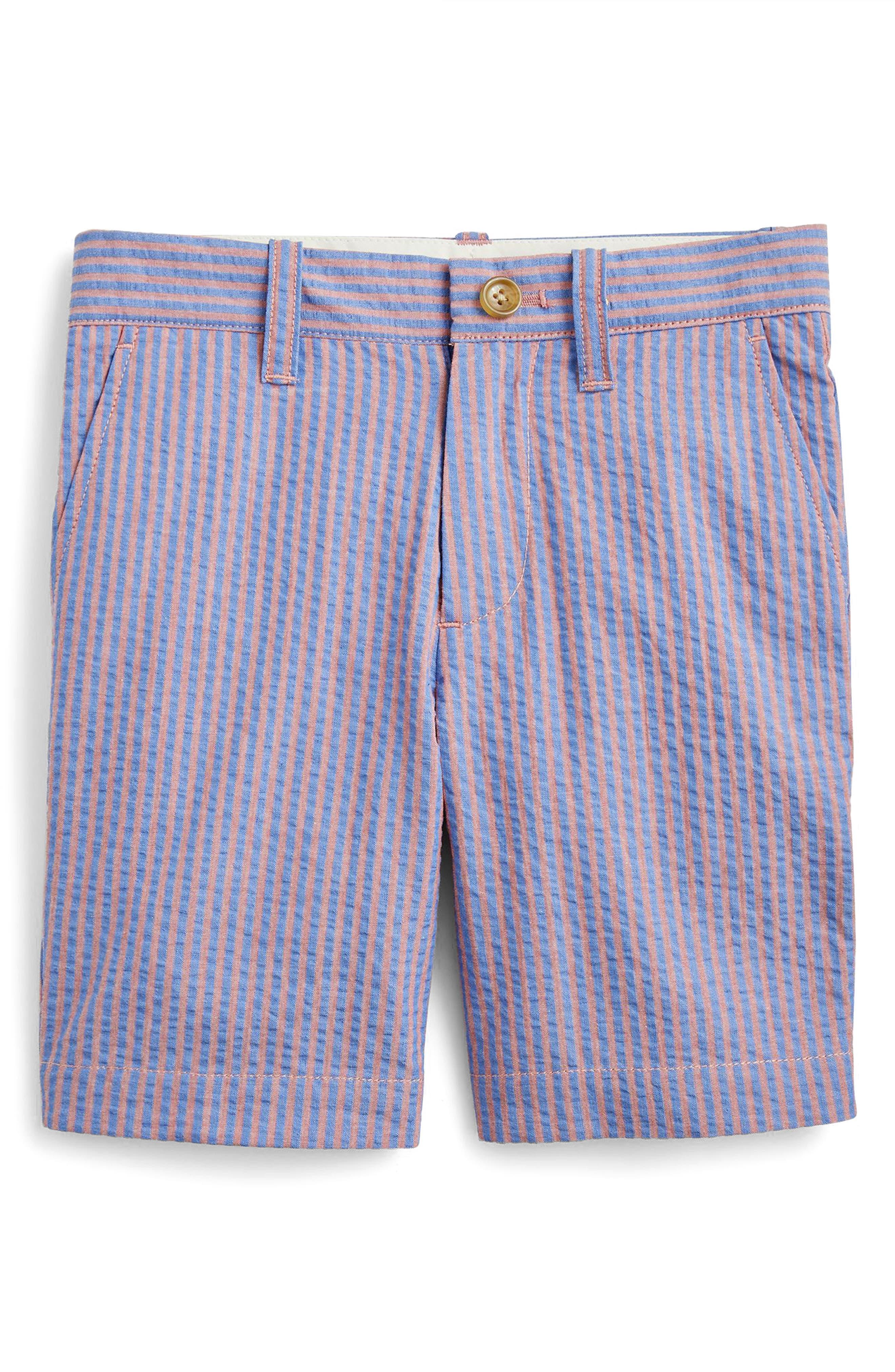 Stanton Seersucker Shorts,                         Main,                         color, 600
