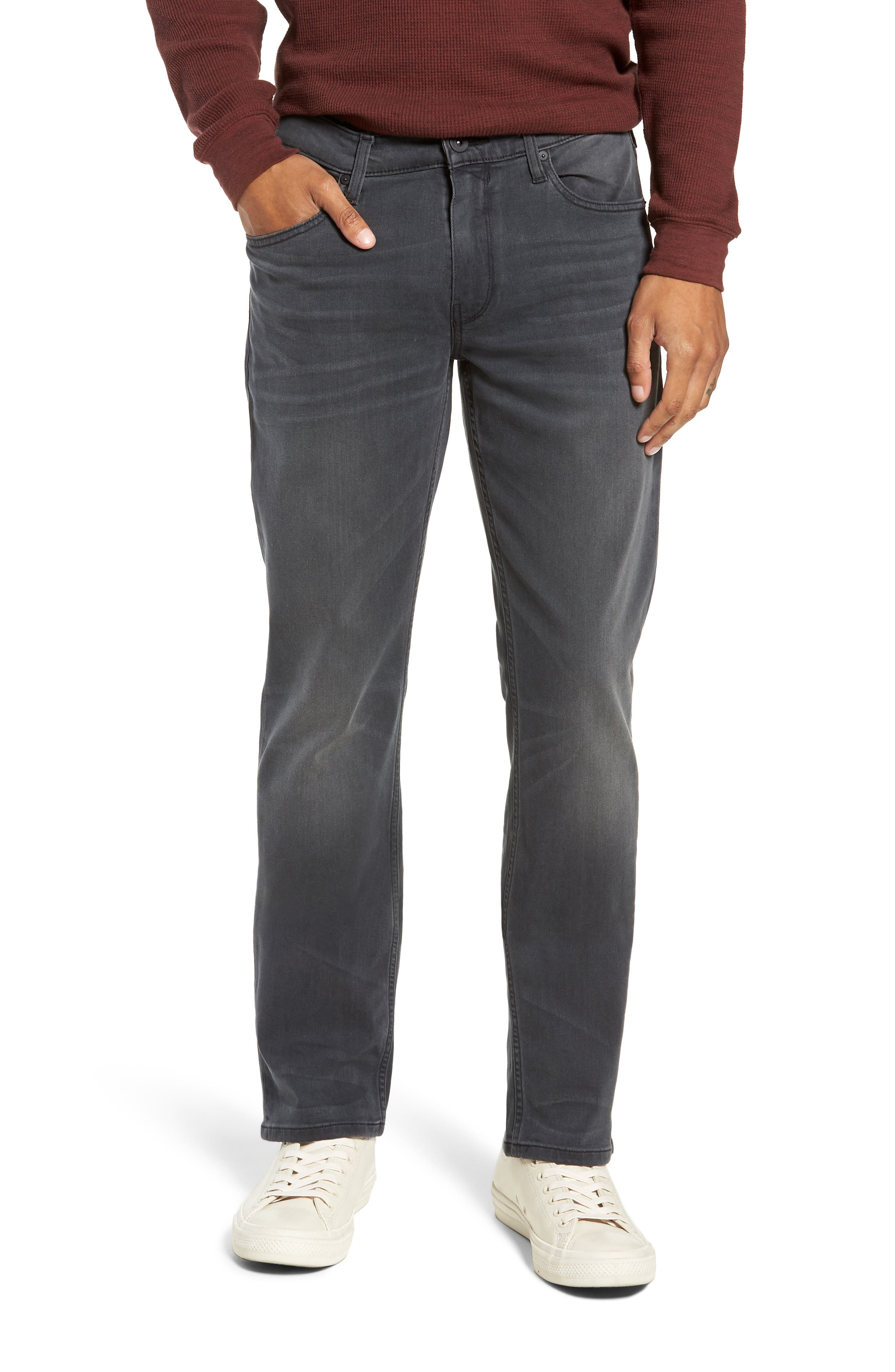 Transcend - Federal Slim Straight Leg Jeans,                             Main thumbnail 1, color,                             SHELDON