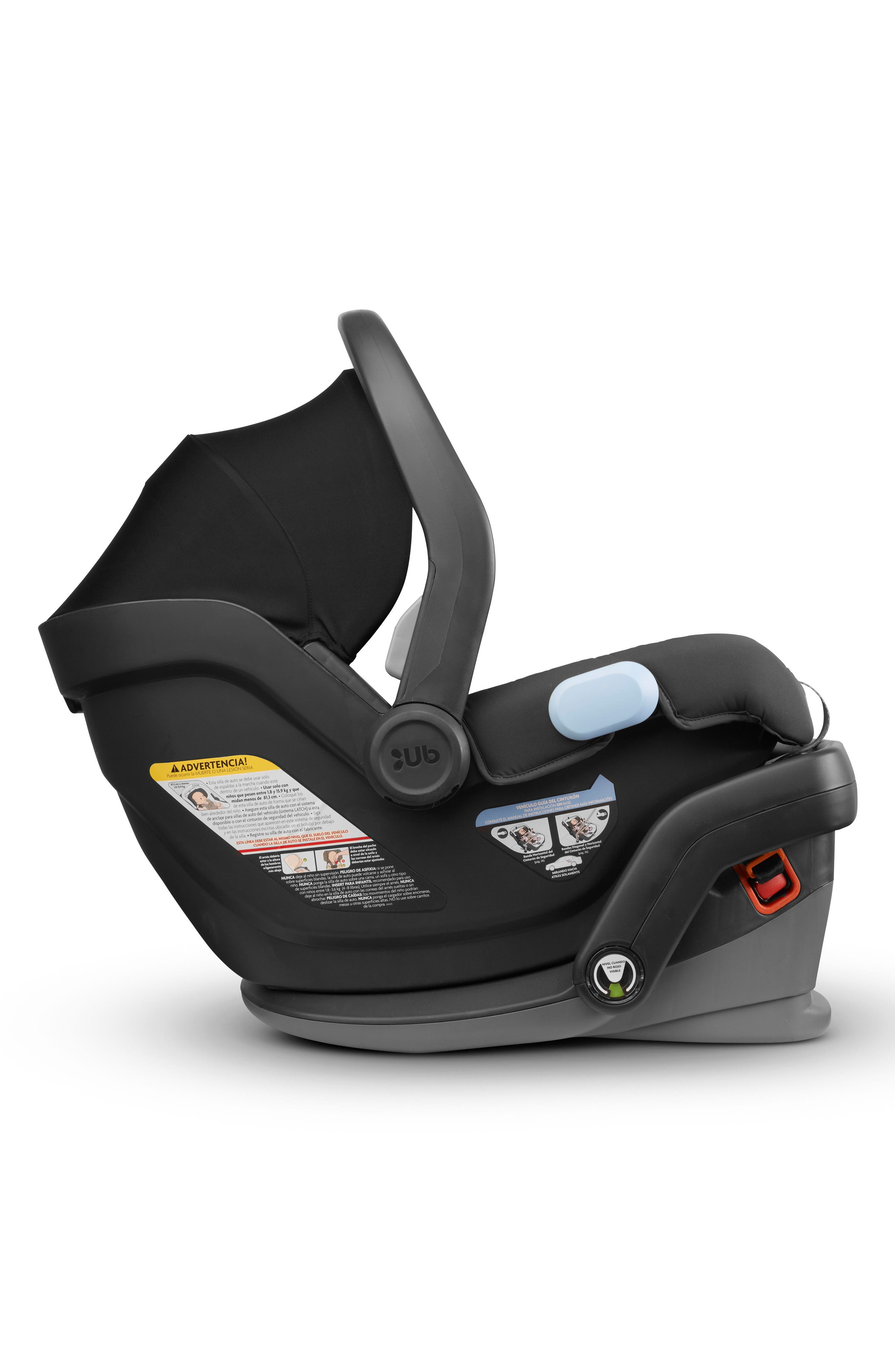 UPPABABY,                             2017 MESA Infant Car Seat,                             Alternate thumbnail 3, color,                             BLACK
