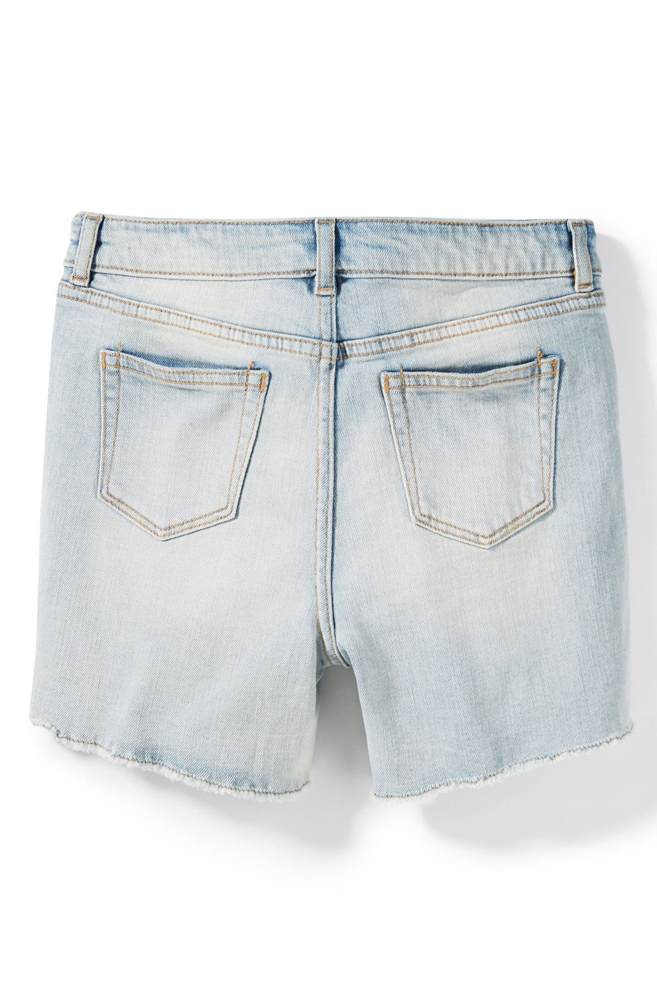 Griffin Rip & Repair Cutoff Denim Shorts,                             Alternate thumbnail 2, color,