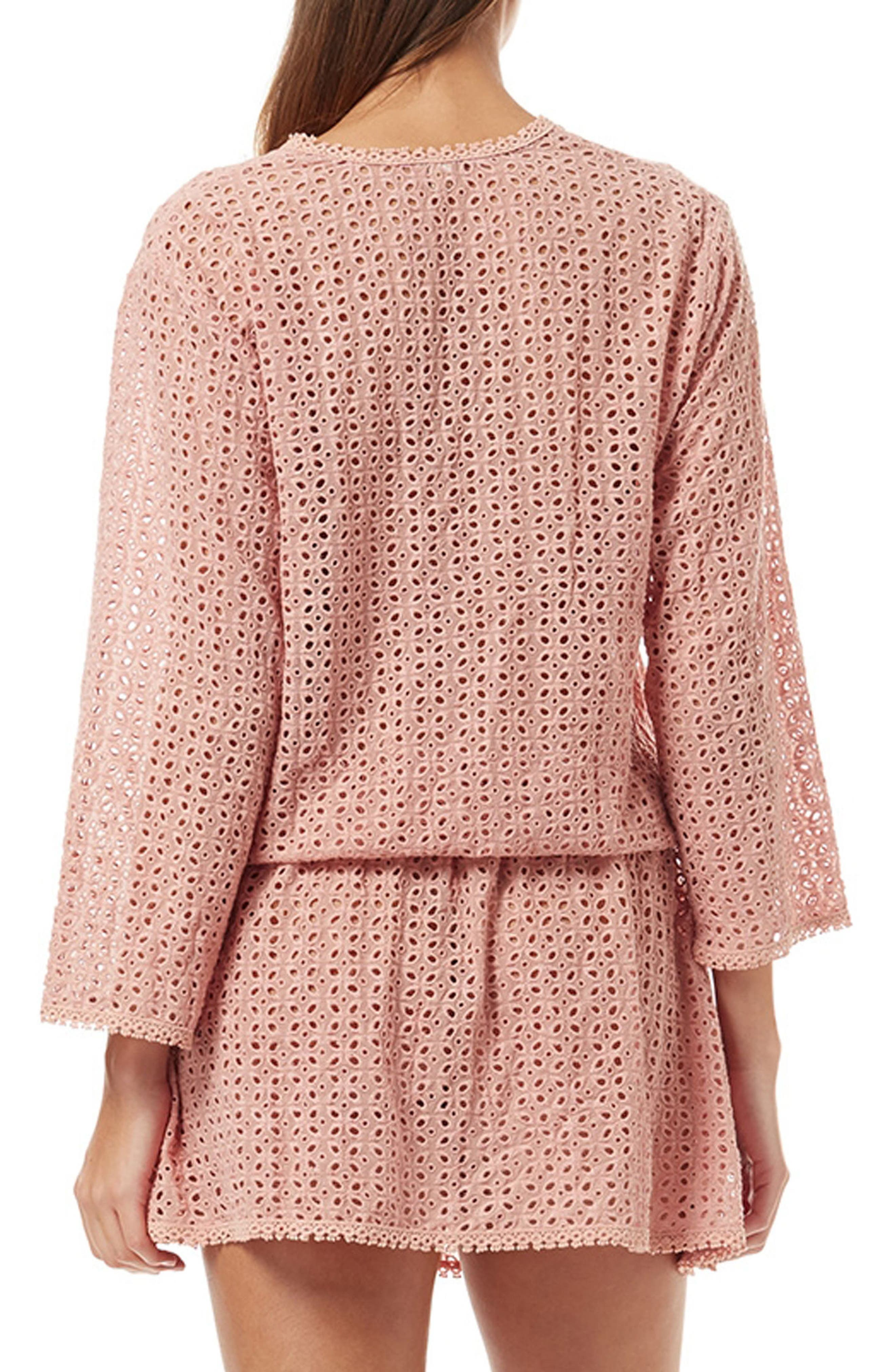 Kylie Cover-Up Dress,                             Alternate thumbnail 2, color,                             DUSTY ROSE