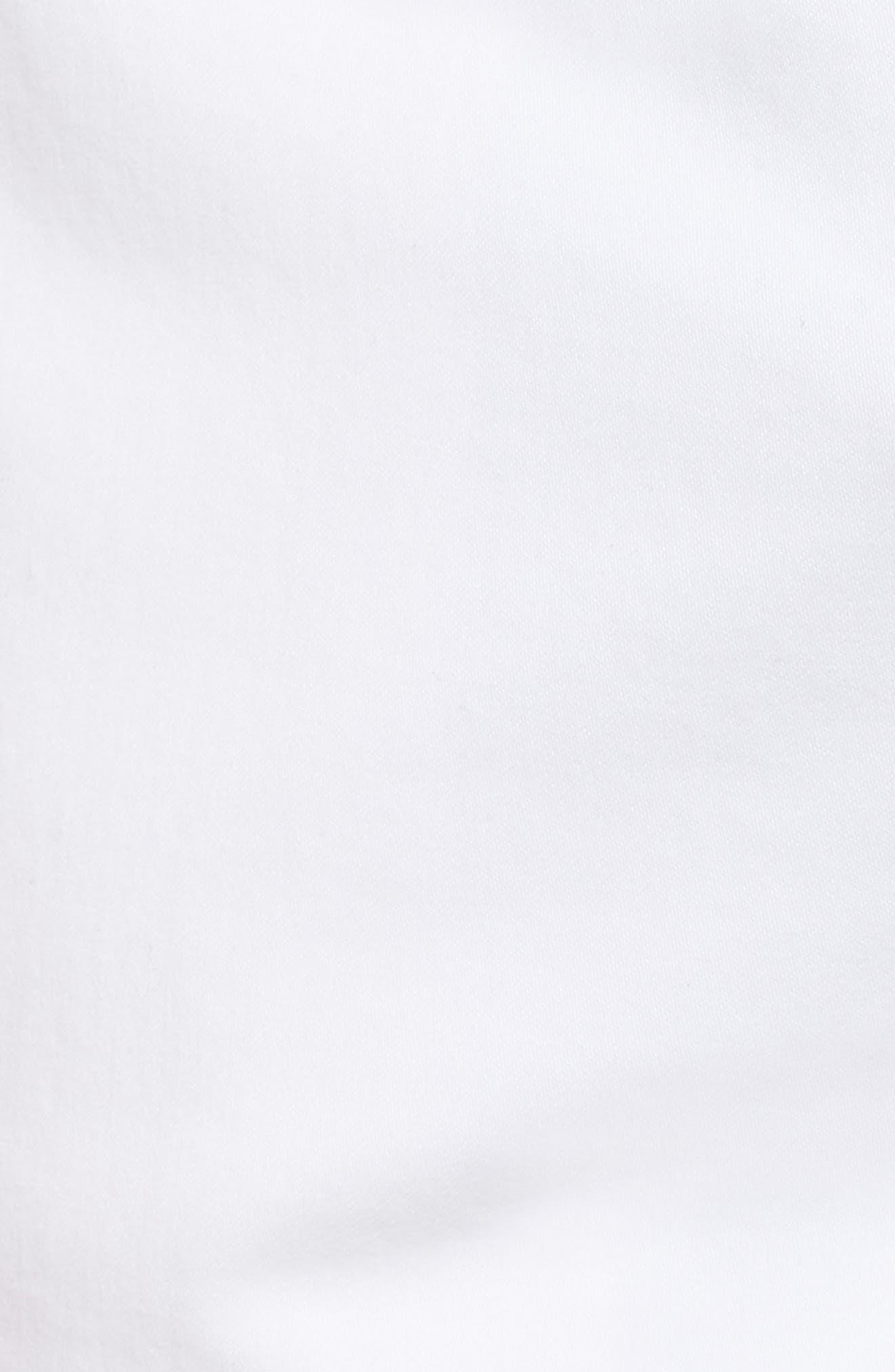 Wanderer Modern Slim Fit Shorts,                             Alternate thumbnail 5, color,                             WHITE