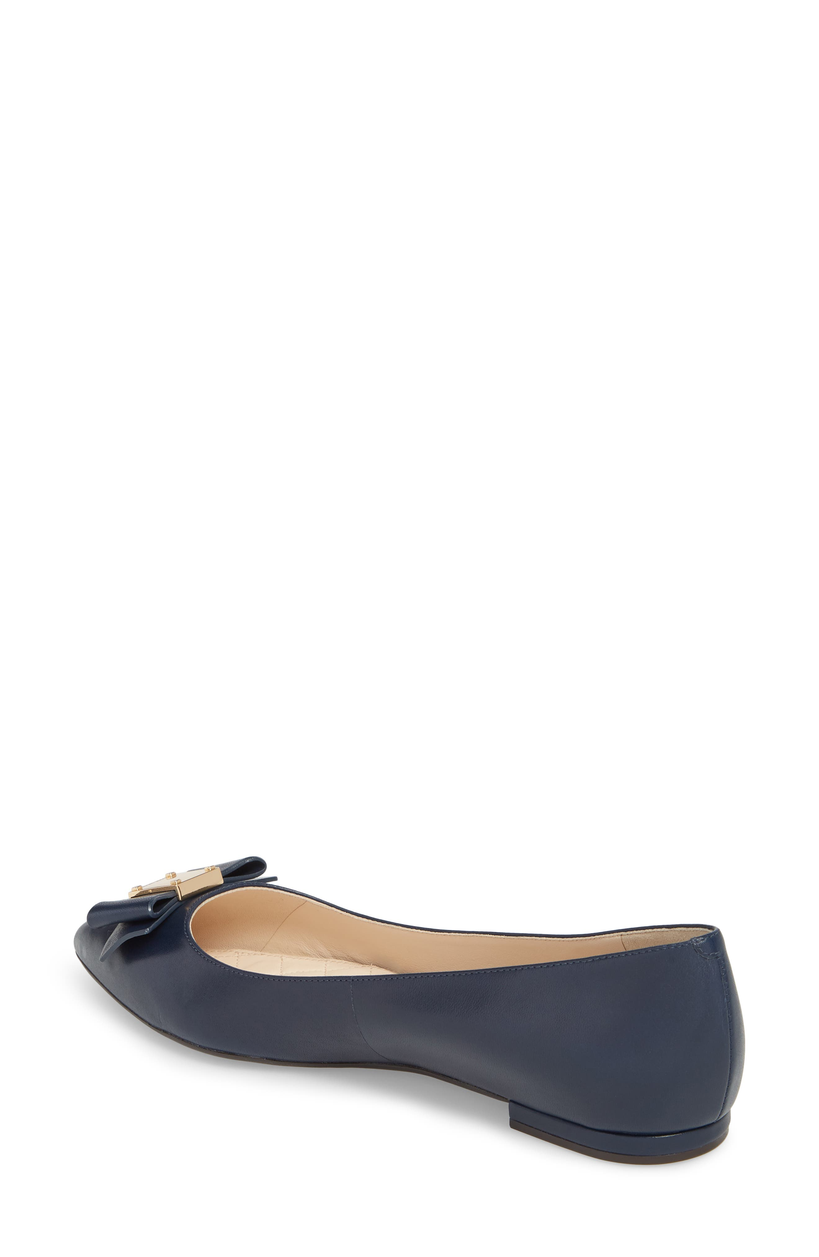 COLE HAAN,                             Tali Bow Skimmer Flat,                             Alternate thumbnail 2, color,                             400
