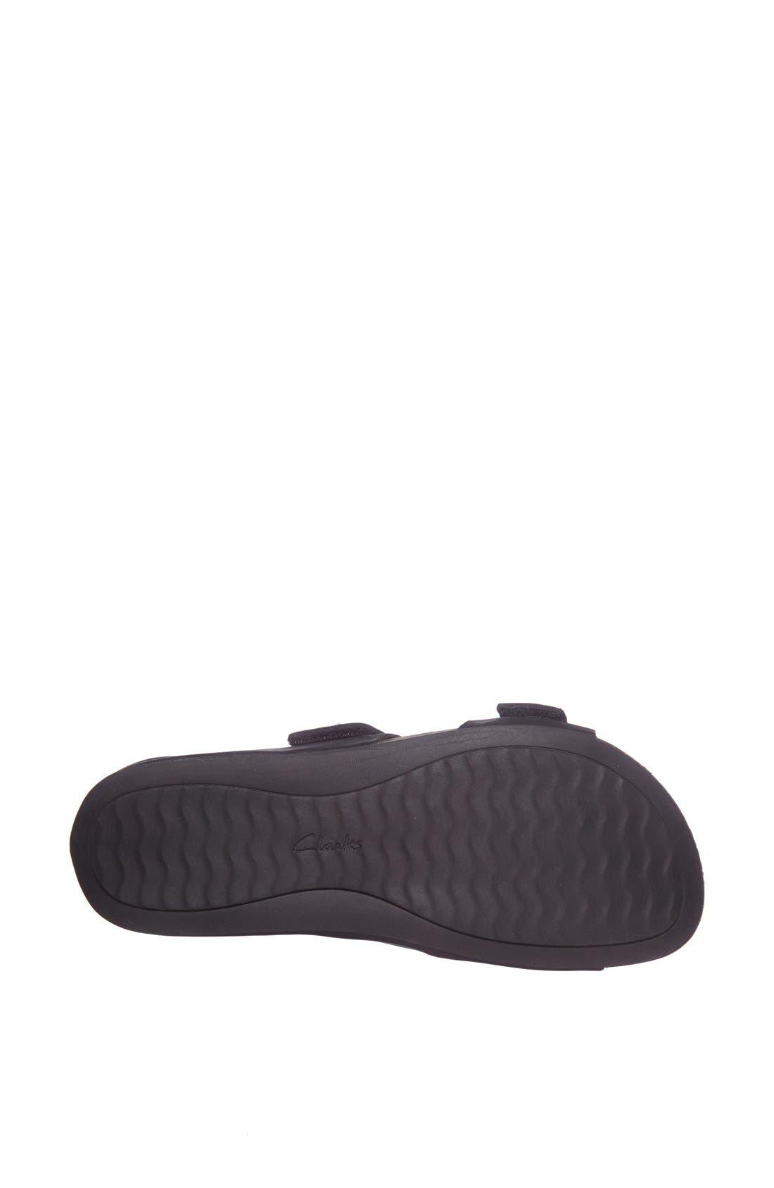 'Perri Coast' Leather Thong Sandal,                             Alternate thumbnail 3, color,                             005
