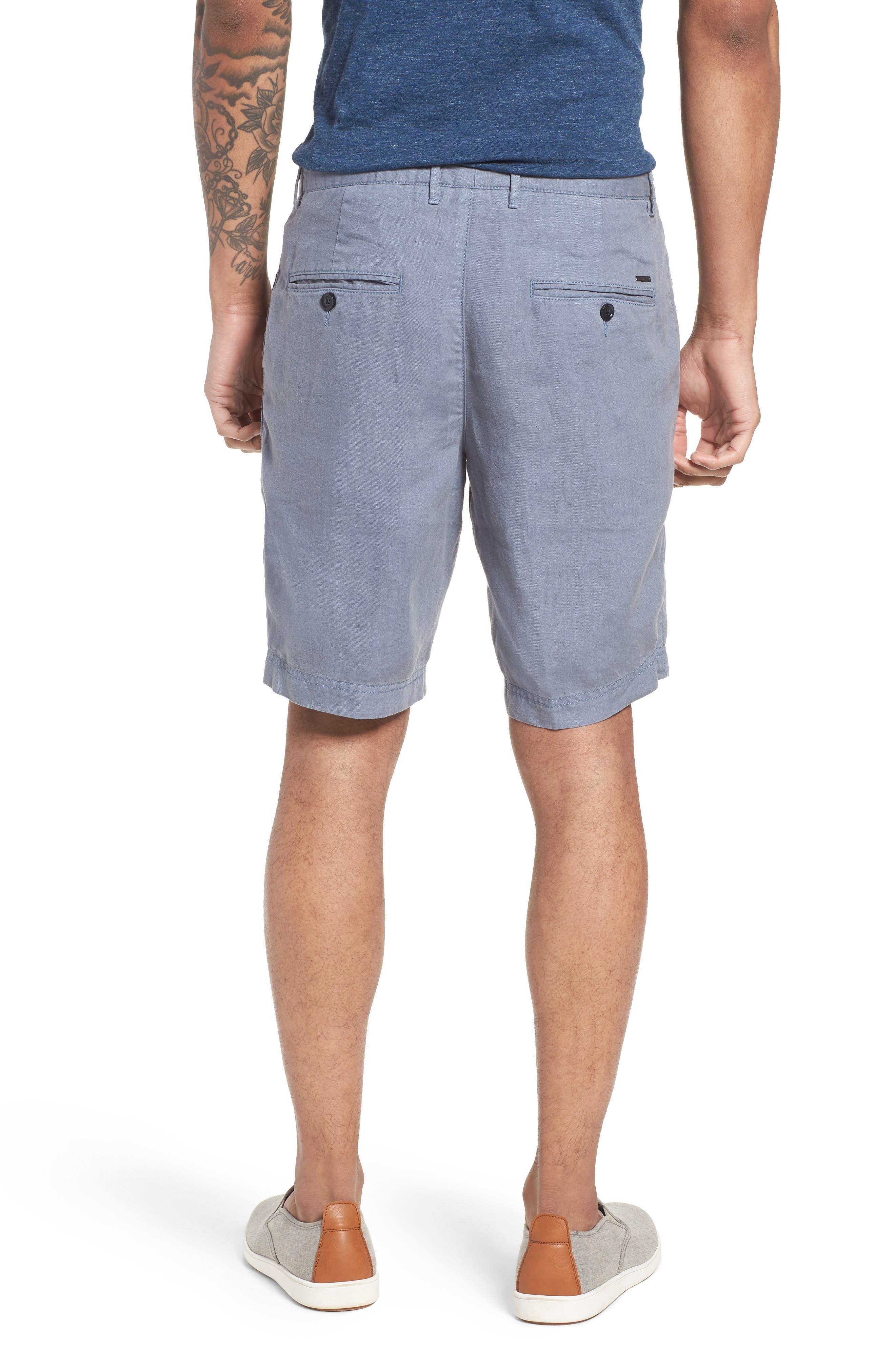 Crigan Linen Shorts,                             Alternate thumbnail 6, color,