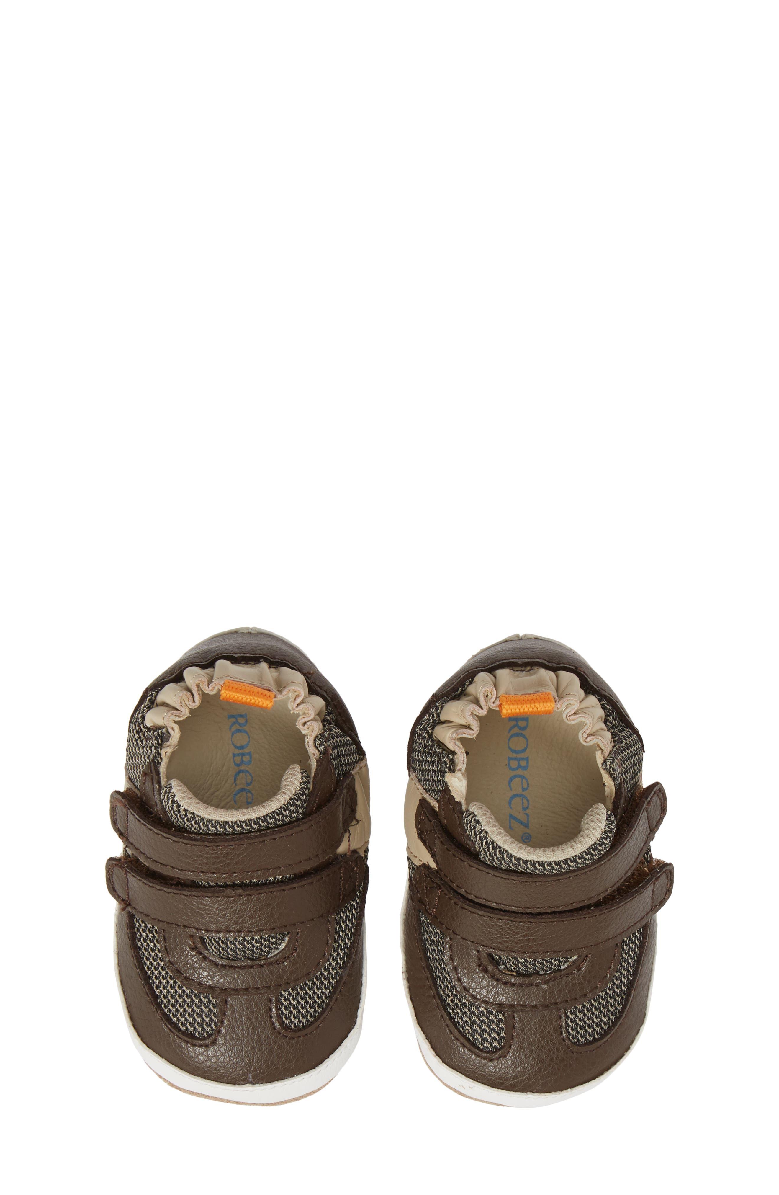 Active Alex Crib Sneaker,                             Alternate thumbnail 5, color,                             ESPRESSO