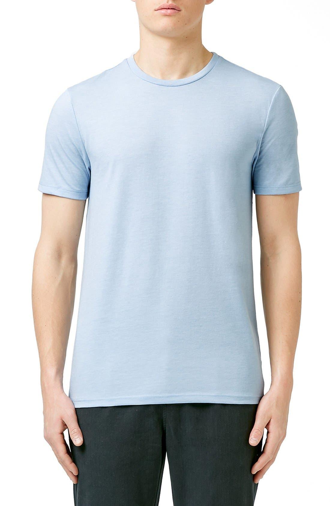 Slim Fit Crewneck T-Shirt,                             Main thumbnail 70, color,