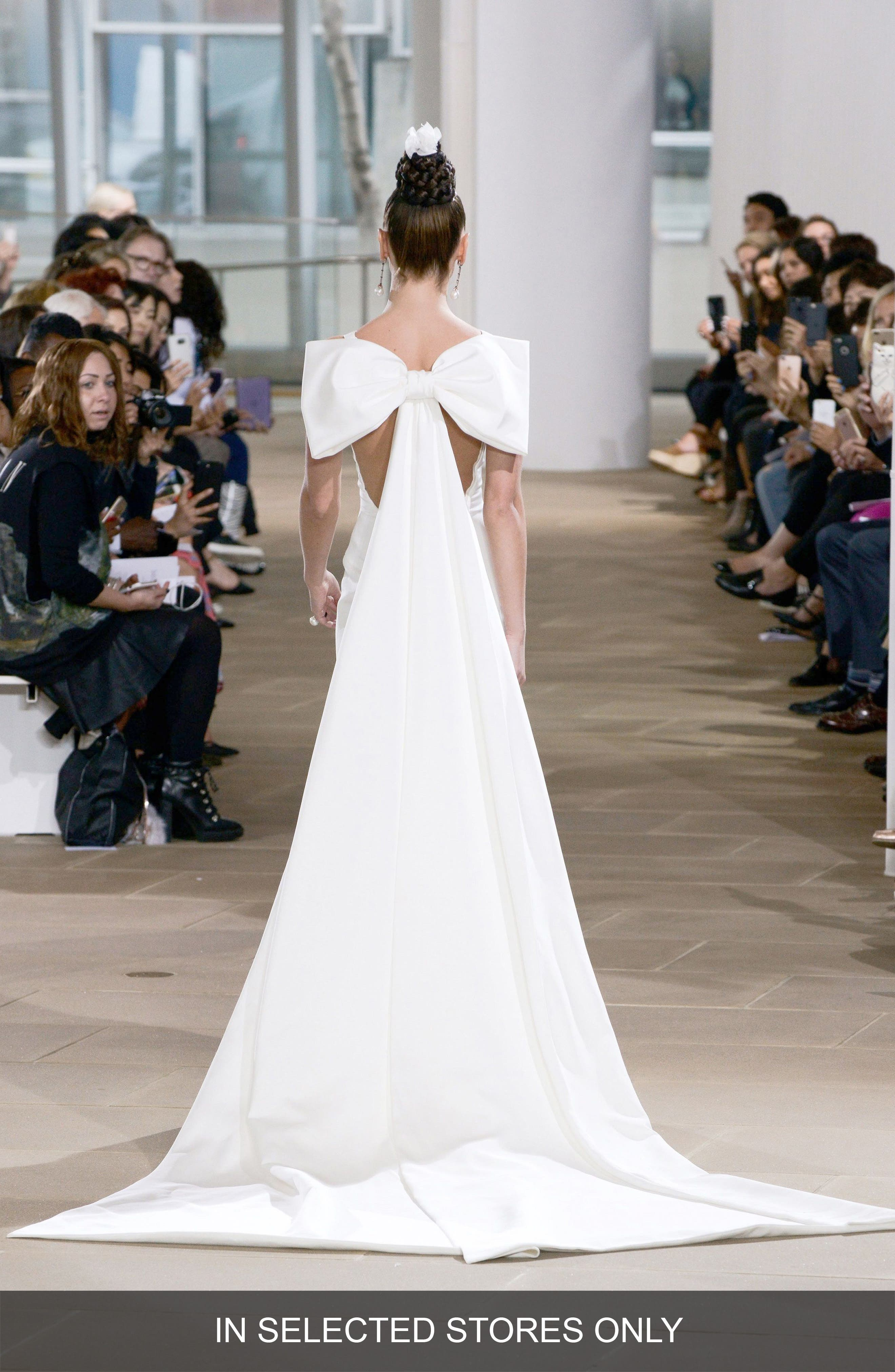 Promise Silk Satin Gown,                             Main thumbnail 1, color,                             900