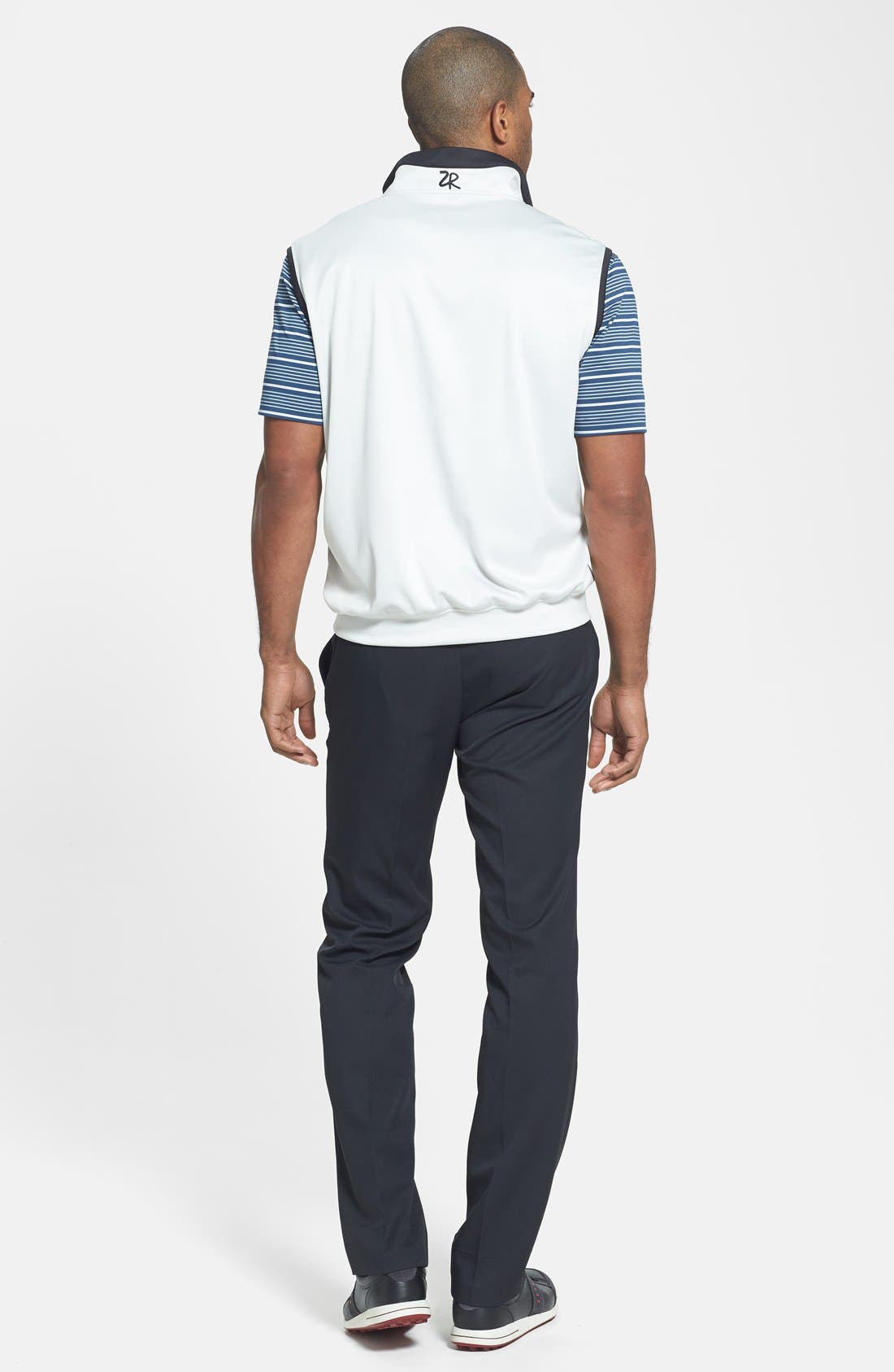 'Staley' Moisture Wicking Polo,                             Alternate thumbnail 3, color,