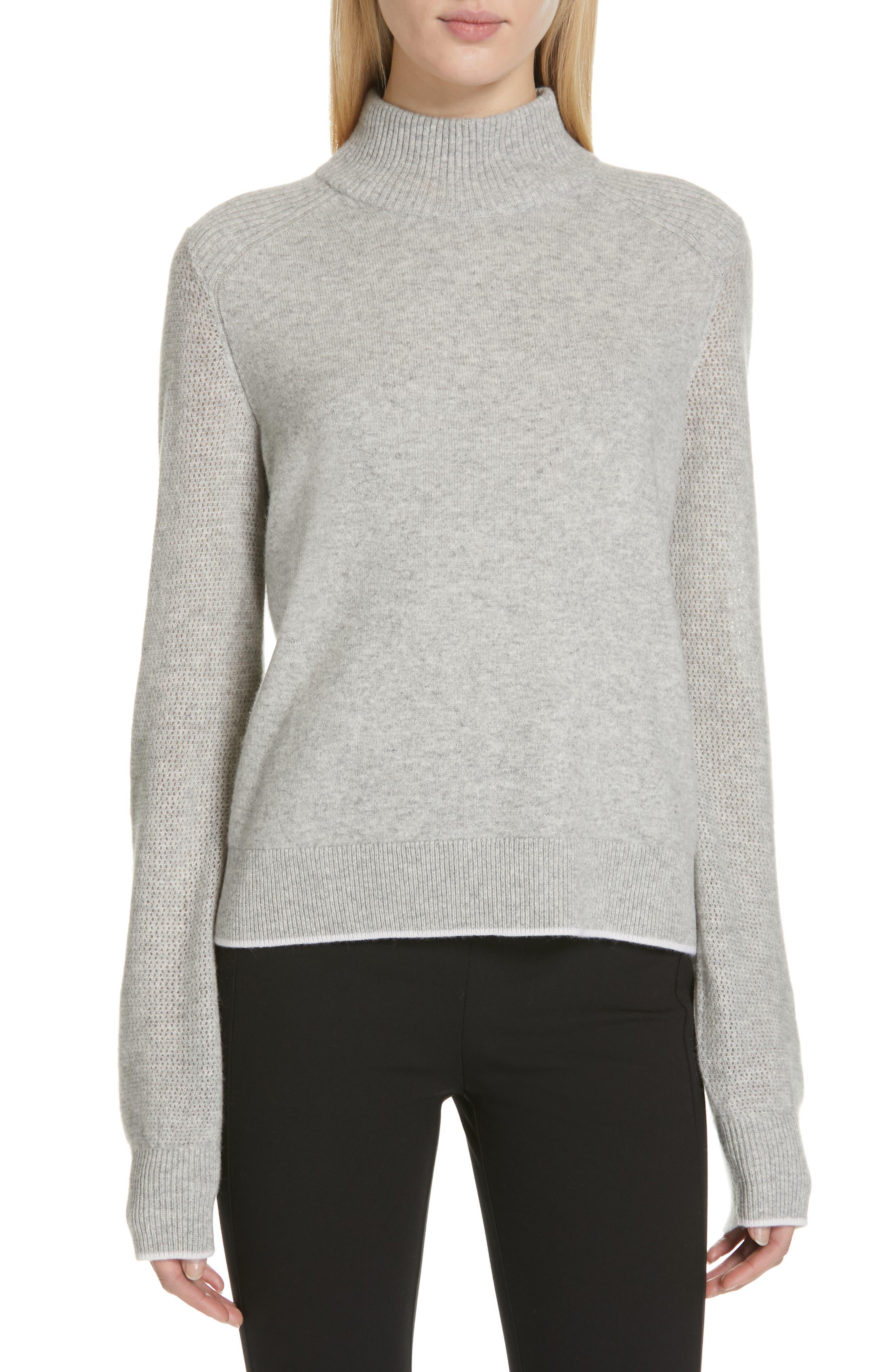 Rag & Bone Yorke Cashmere Sweater, Grey