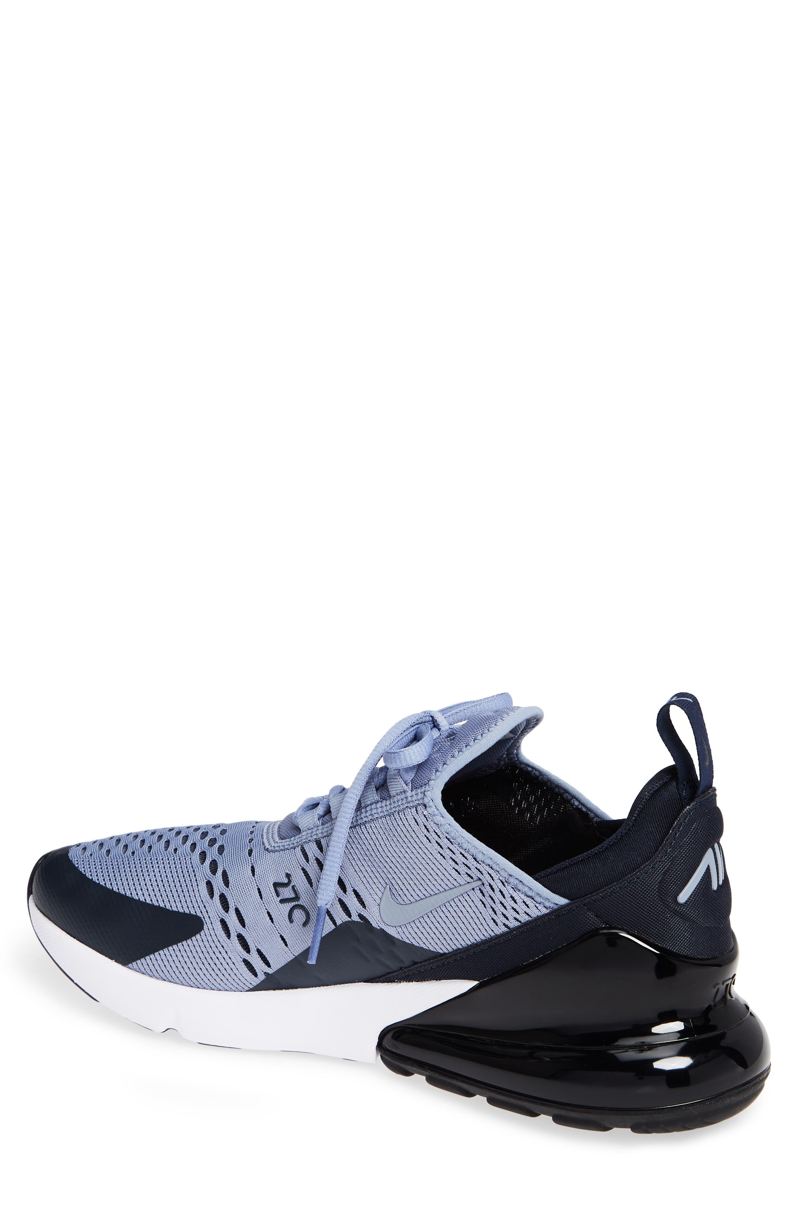 Air Max 270 Sneaker,                             Alternate thumbnail 2, color,                             ASHEN SLATE/ BLACK