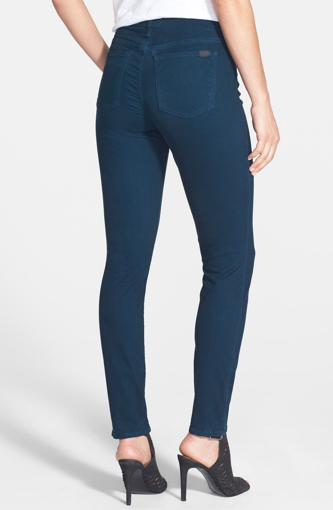 Colored Stretch Denim Skinny Jeans,                             Alternate thumbnail 15, color,