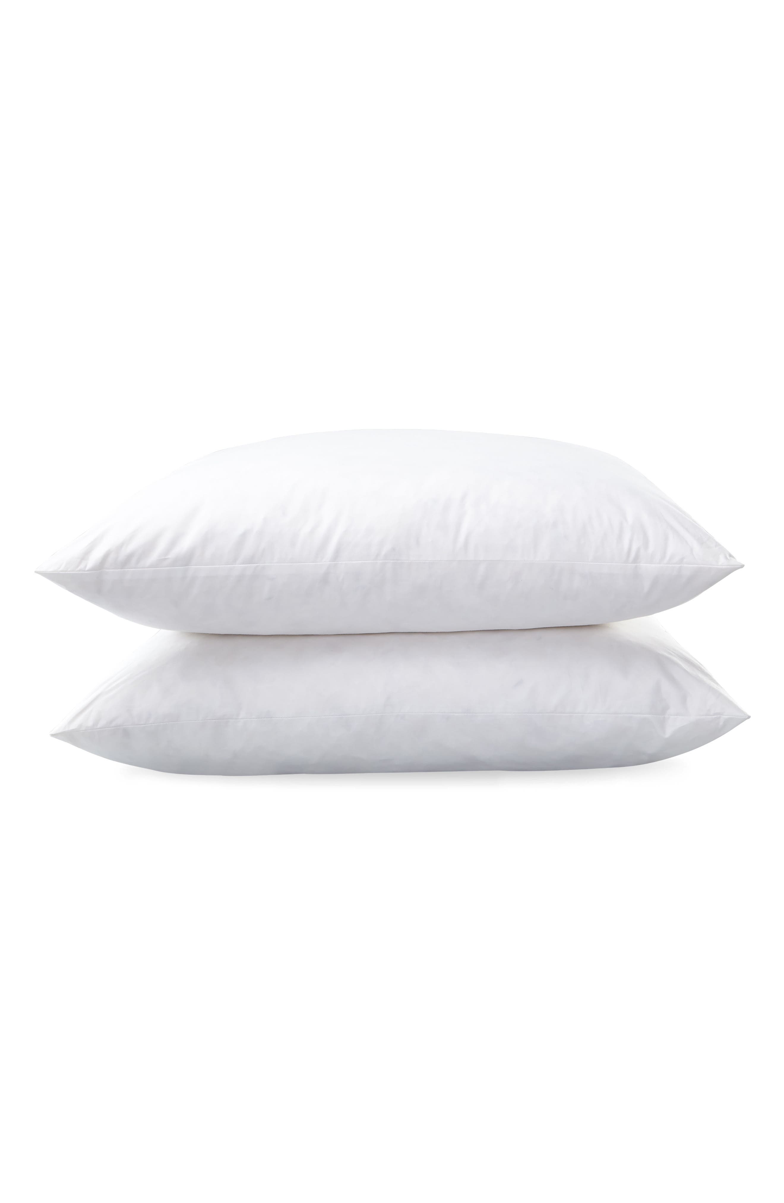 Montreux Euro Feather 280 Thread Count Pillow,                             Main thumbnail 1, color,                             100