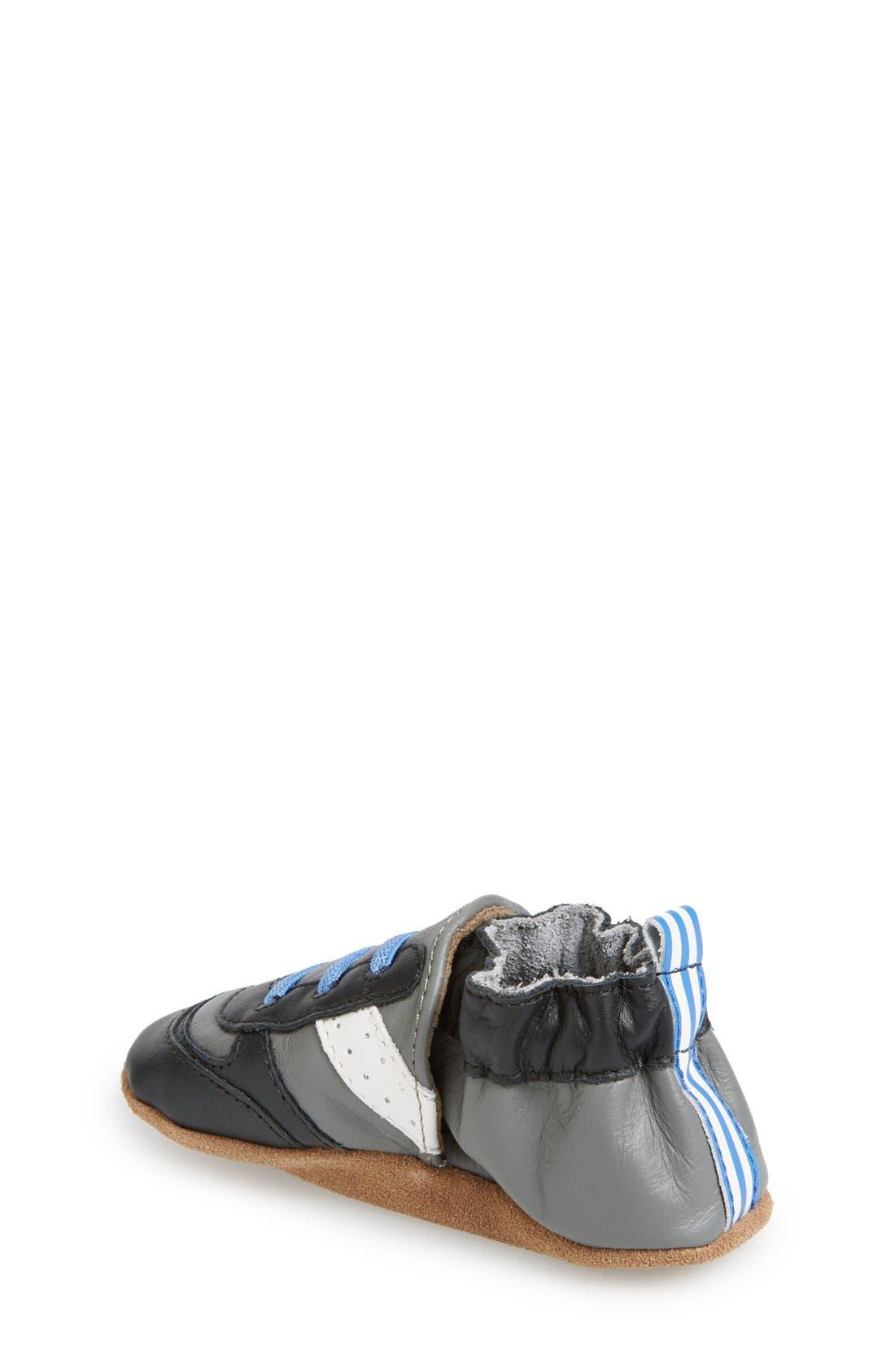 'Super Sporty' Crib Shoe,                             Main thumbnail 1, color,                             020