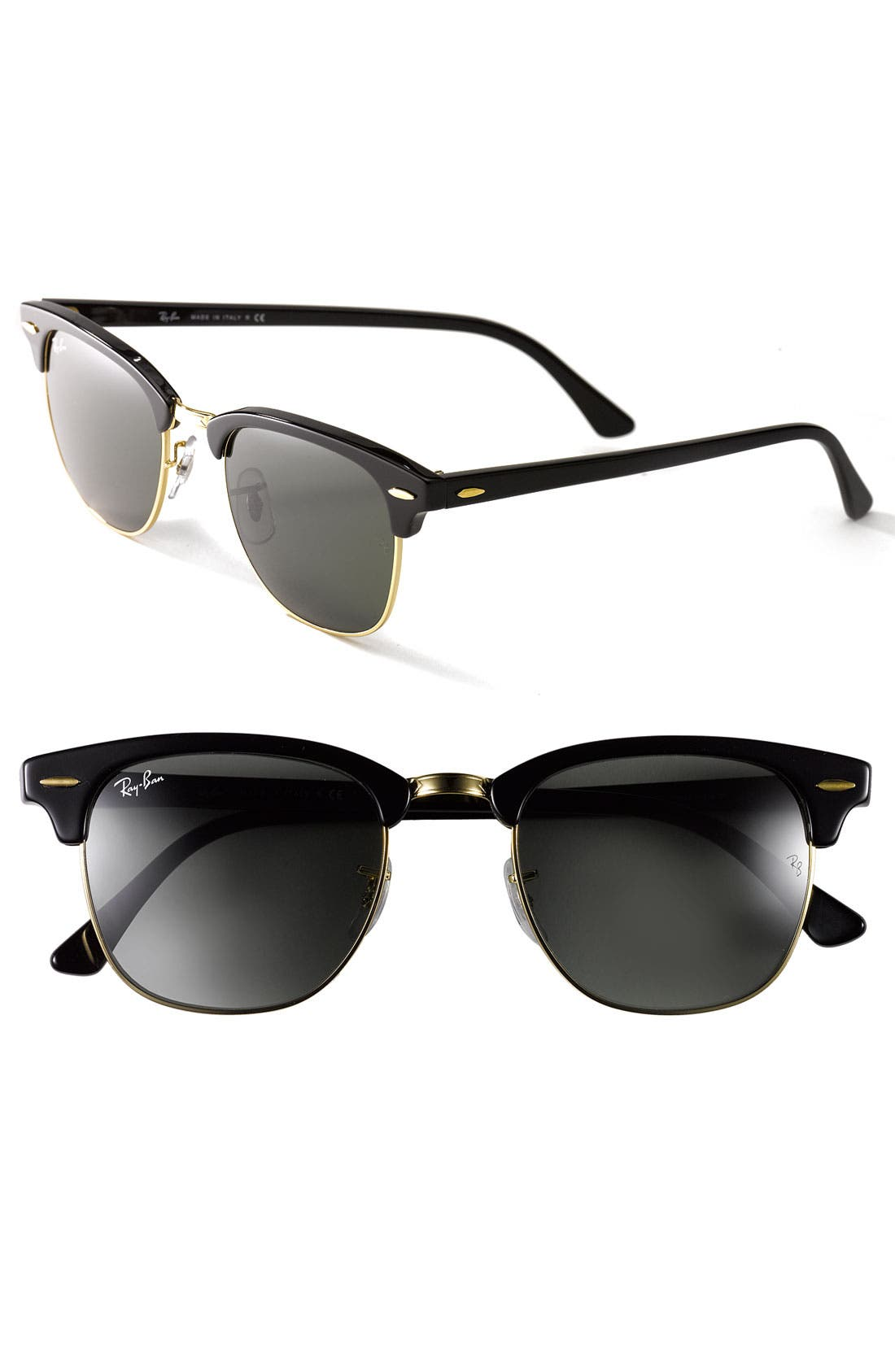 'Clubmaster' 49mm Sunglasses,                             Main thumbnail 1, color,