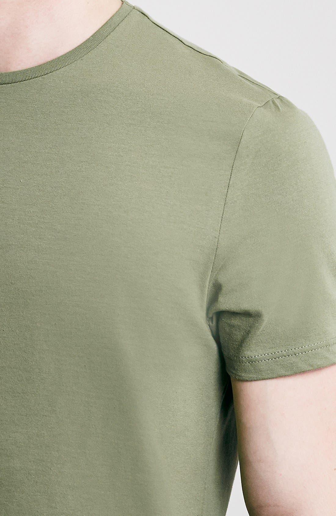 Slim Fit Crewneck T-Shirt,                             Alternate thumbnail 331, color,