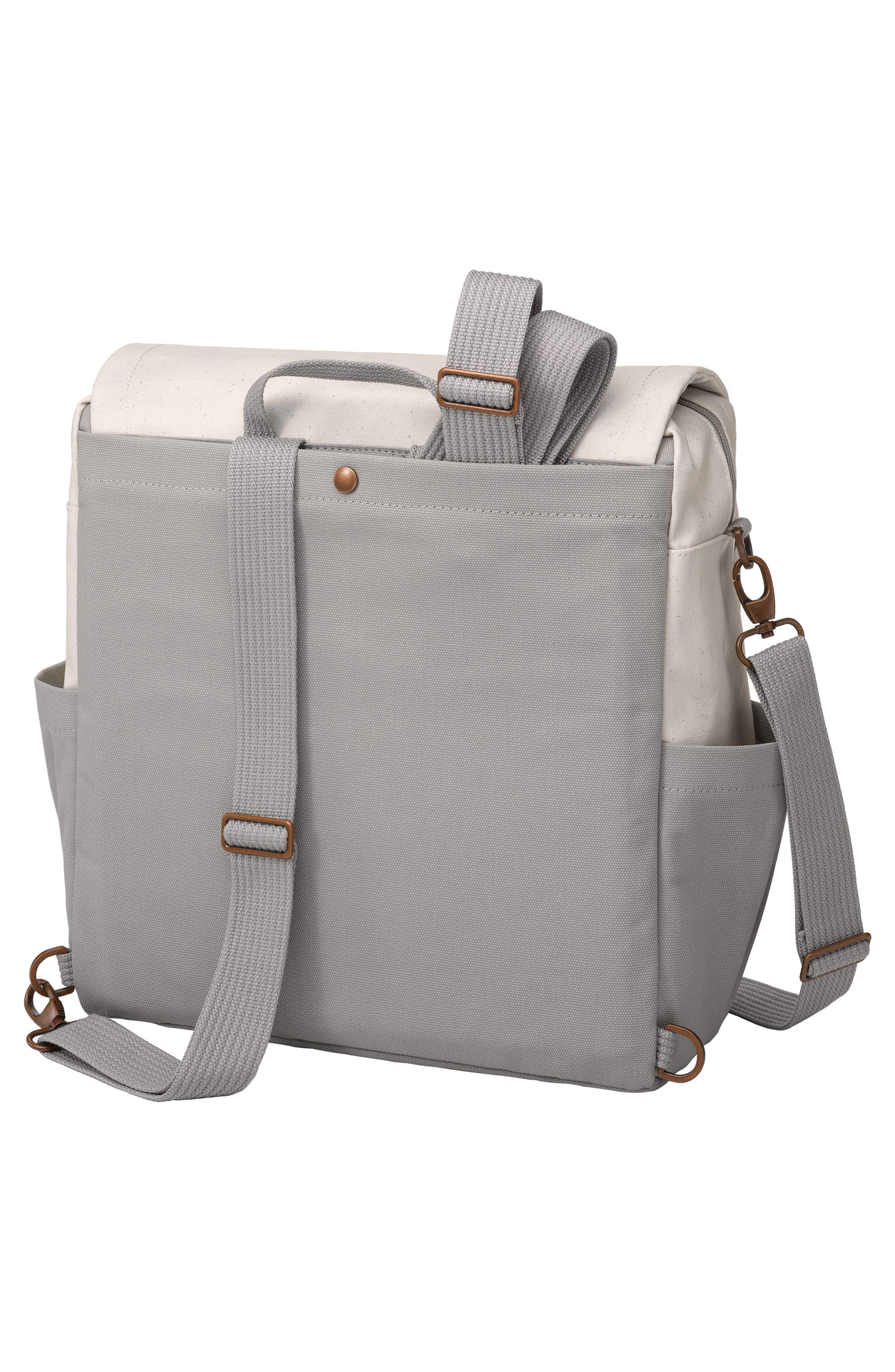 Boxy Backpack Diaper Bag,                             Alternate thumbnail 2, color,                             BIRCH/ STONE