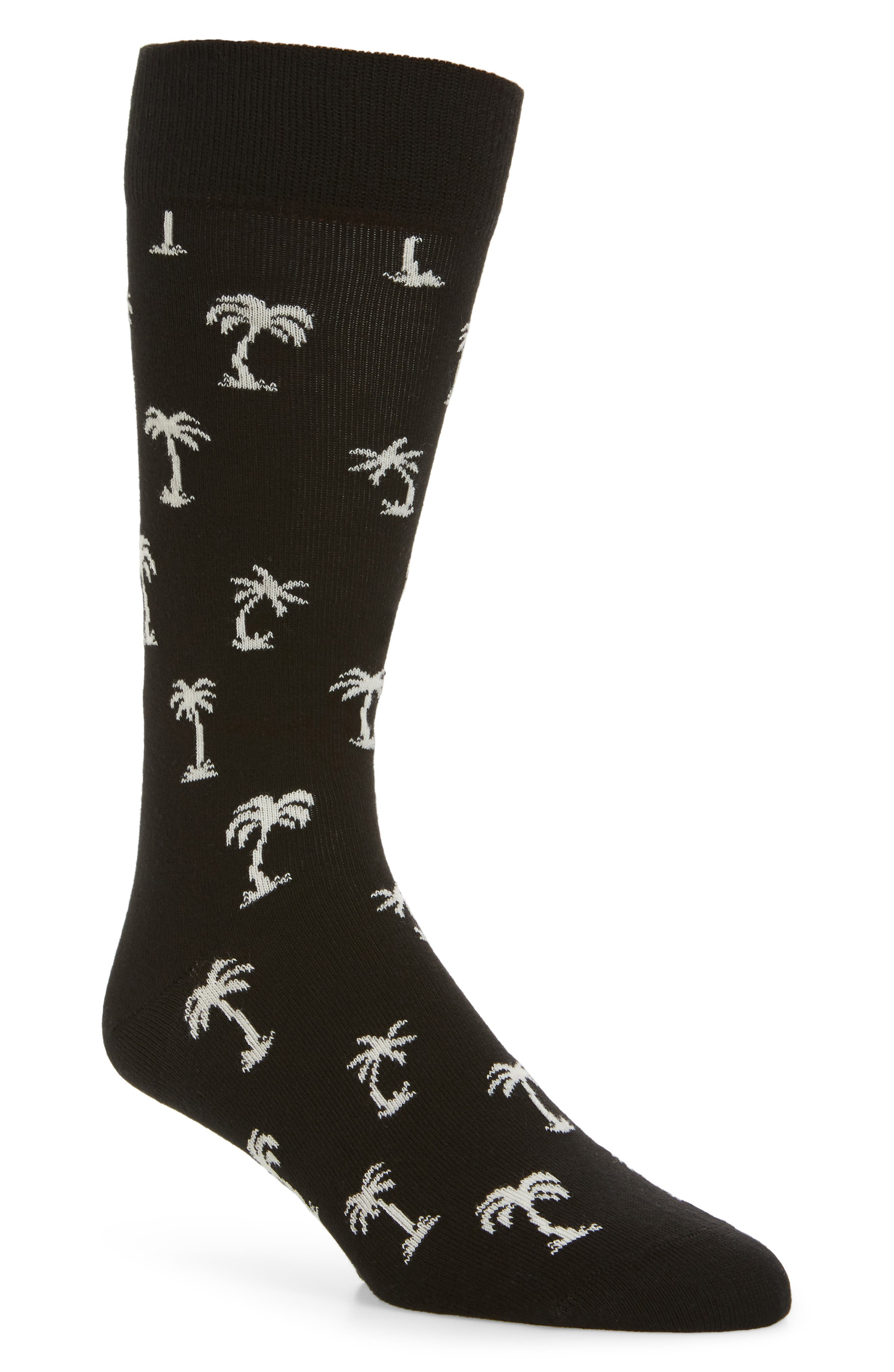 Palm Beach Crew Socks,                             Main thumbnail 1, color,                             009