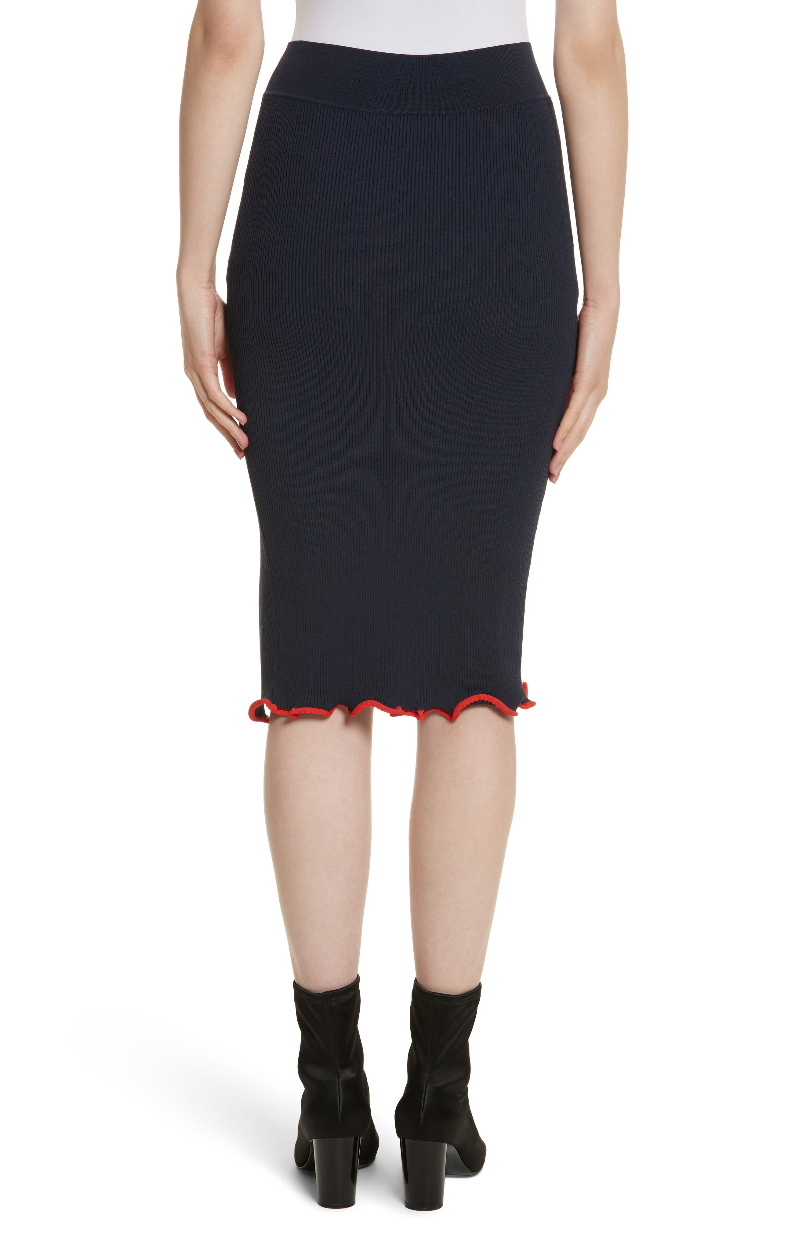 Criss Cross Pencil Skirt,                             Alternate thumbnail 2, color,                             412