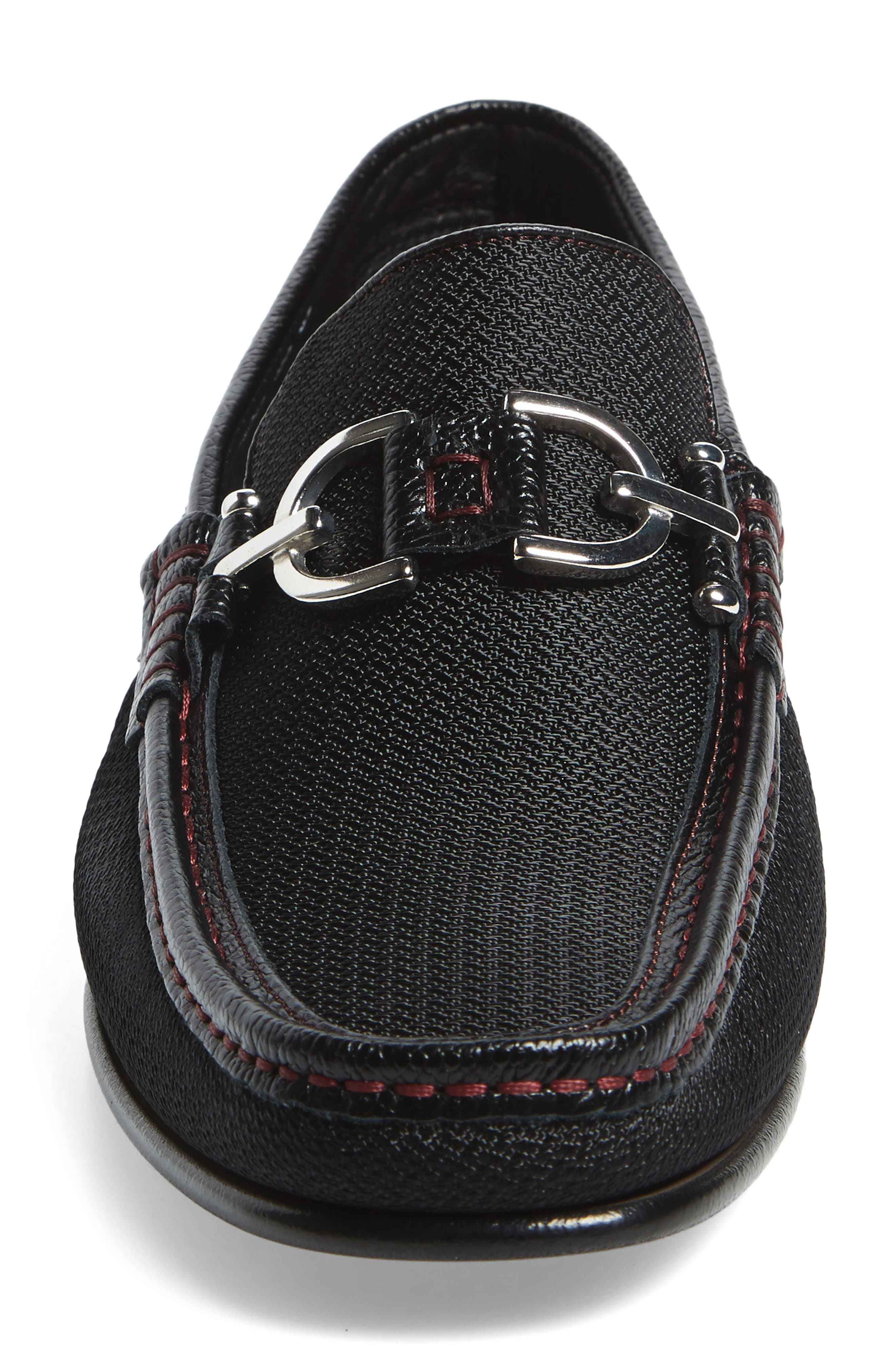 Dacio Moc Toe Loafer,                             Alternate thumbnail 4, color,                             001