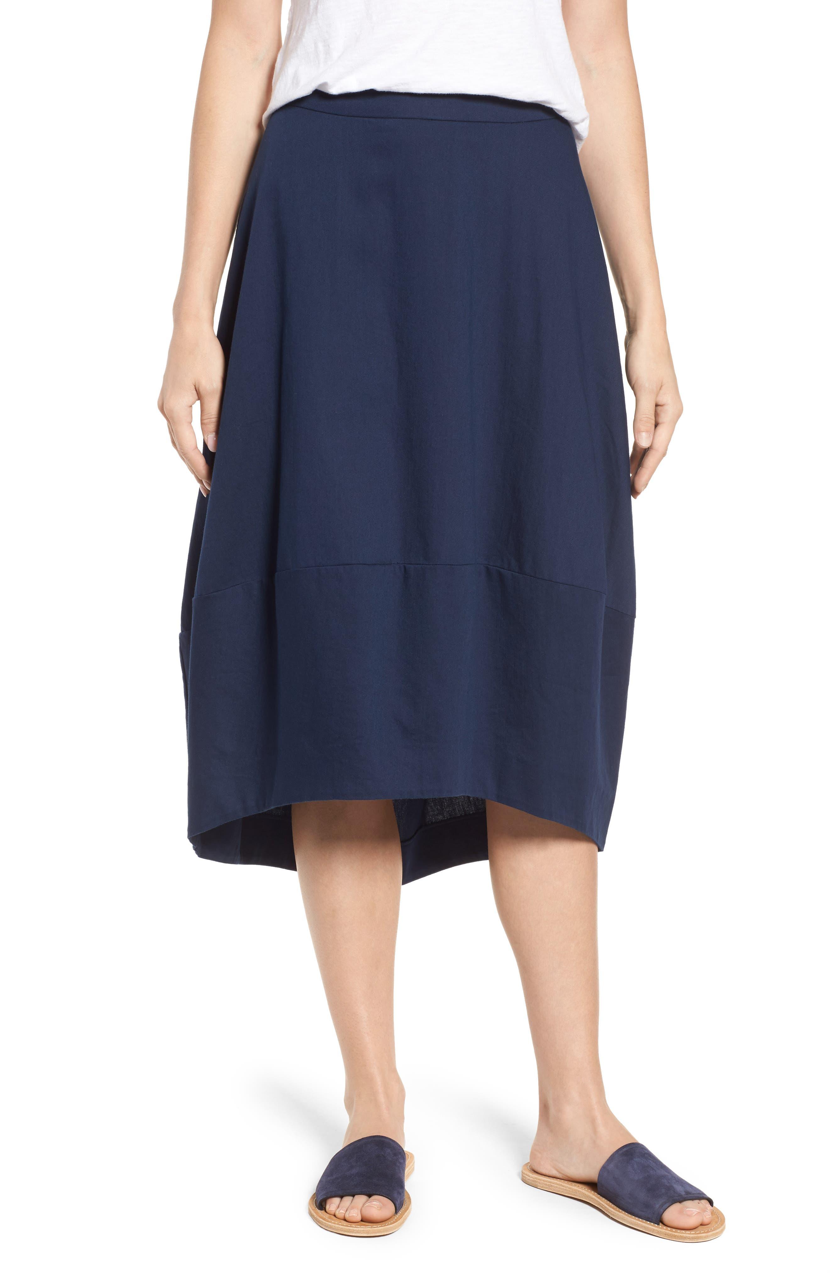 Organic Cotton Lantern Skirt,                             Main thumbnail 4, color,