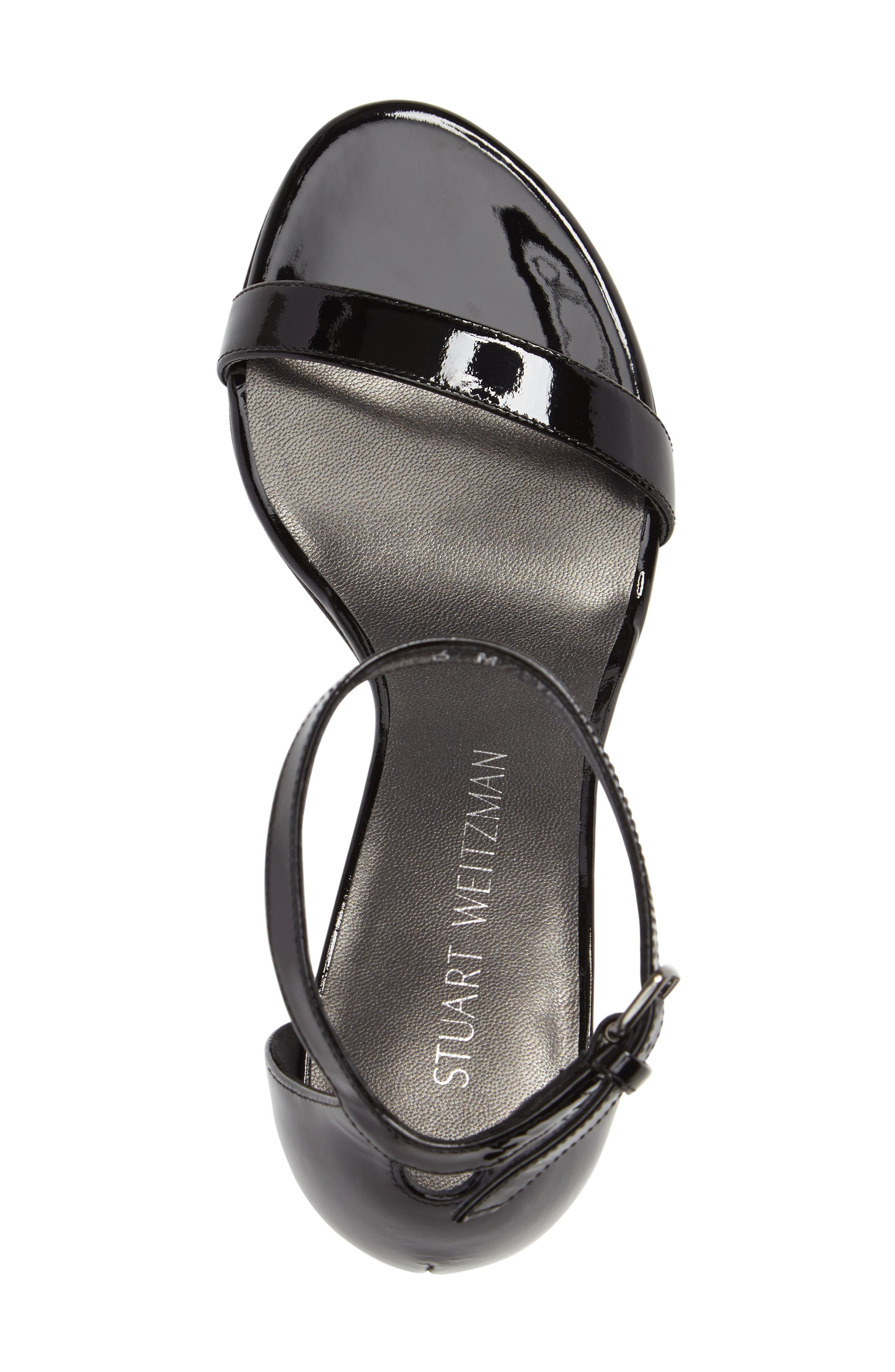 NearlyNude Ankle Strap Sandal,                             Alternate thumbnail 65, color,