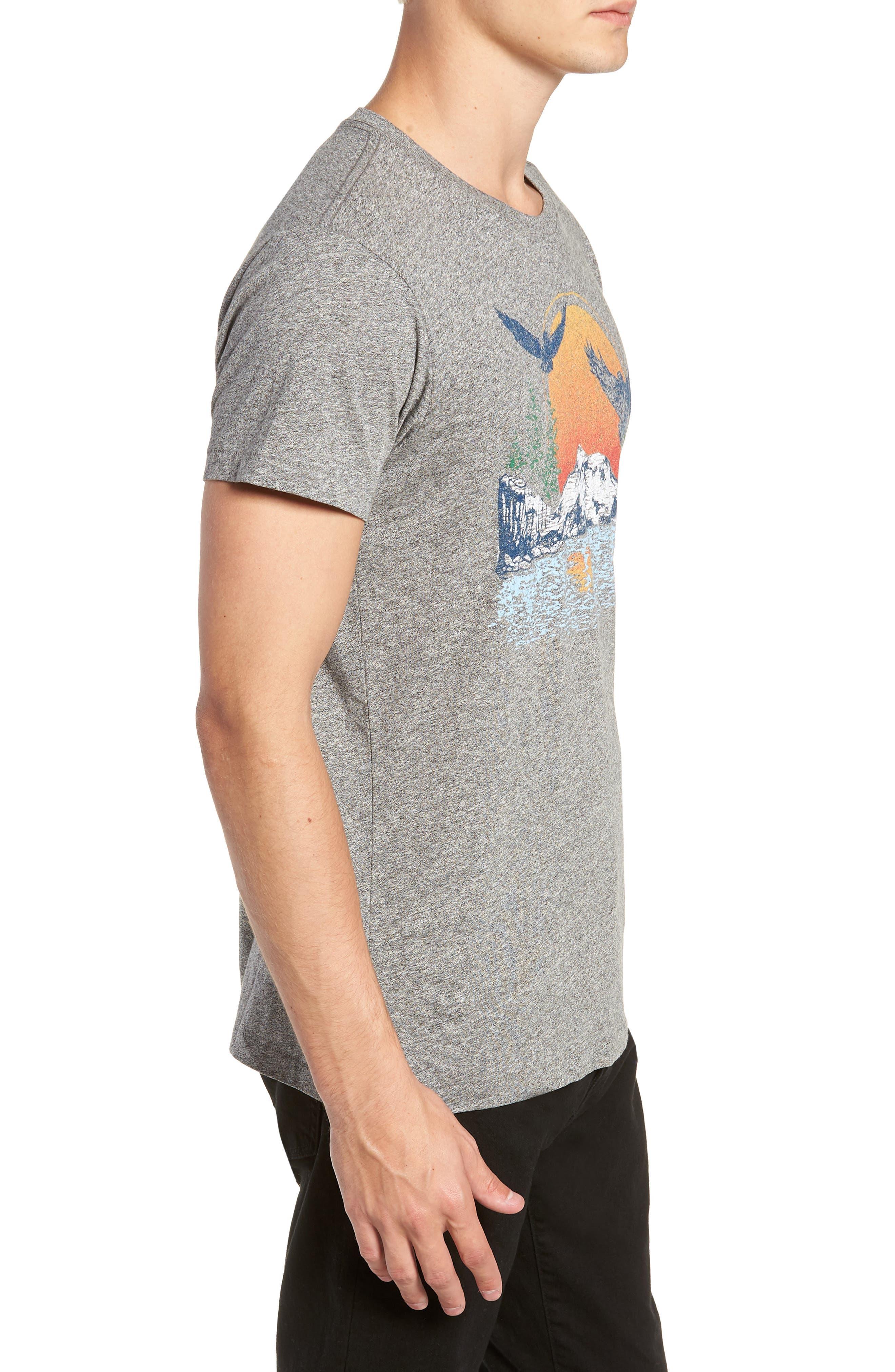 Lake Arrowhead Graphic T-Shirt,                             Alternate thumbnail 3, color,                             020