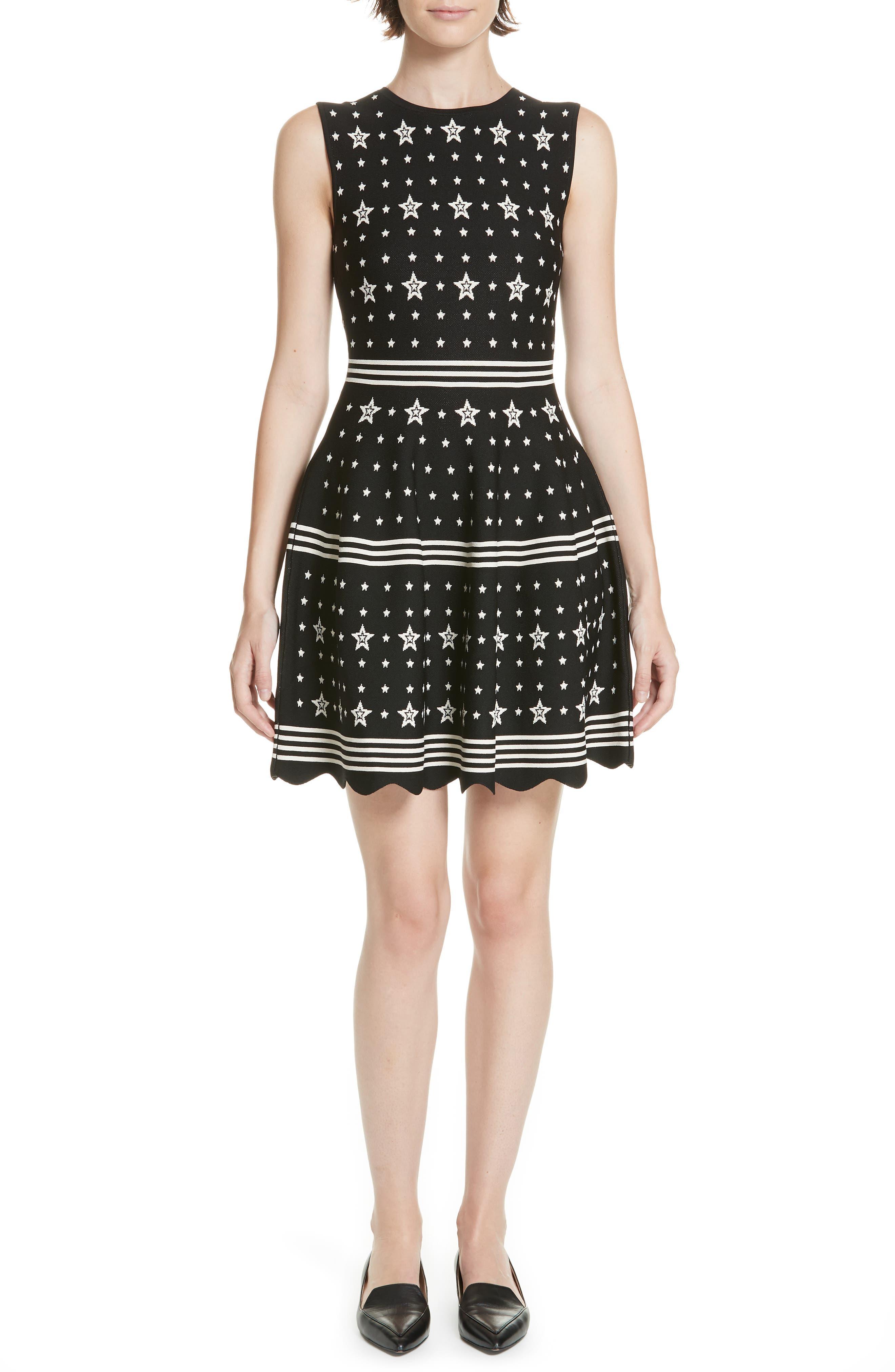 Mariae Star Dress,                             Main thumbnail 1, color,                             001
