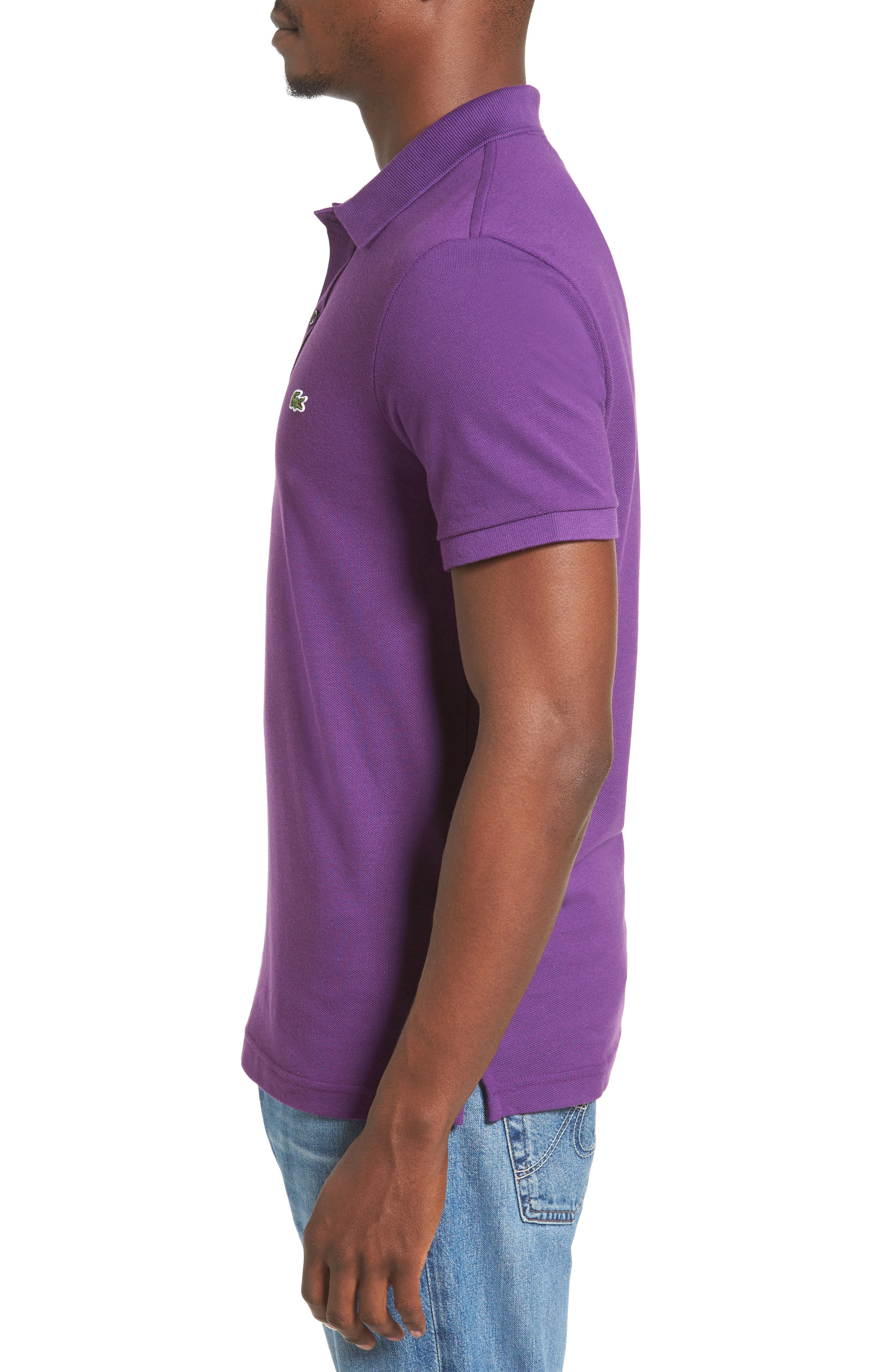 Slim Fit Piqué Polo,                             Alternate thumbnail 32, color,