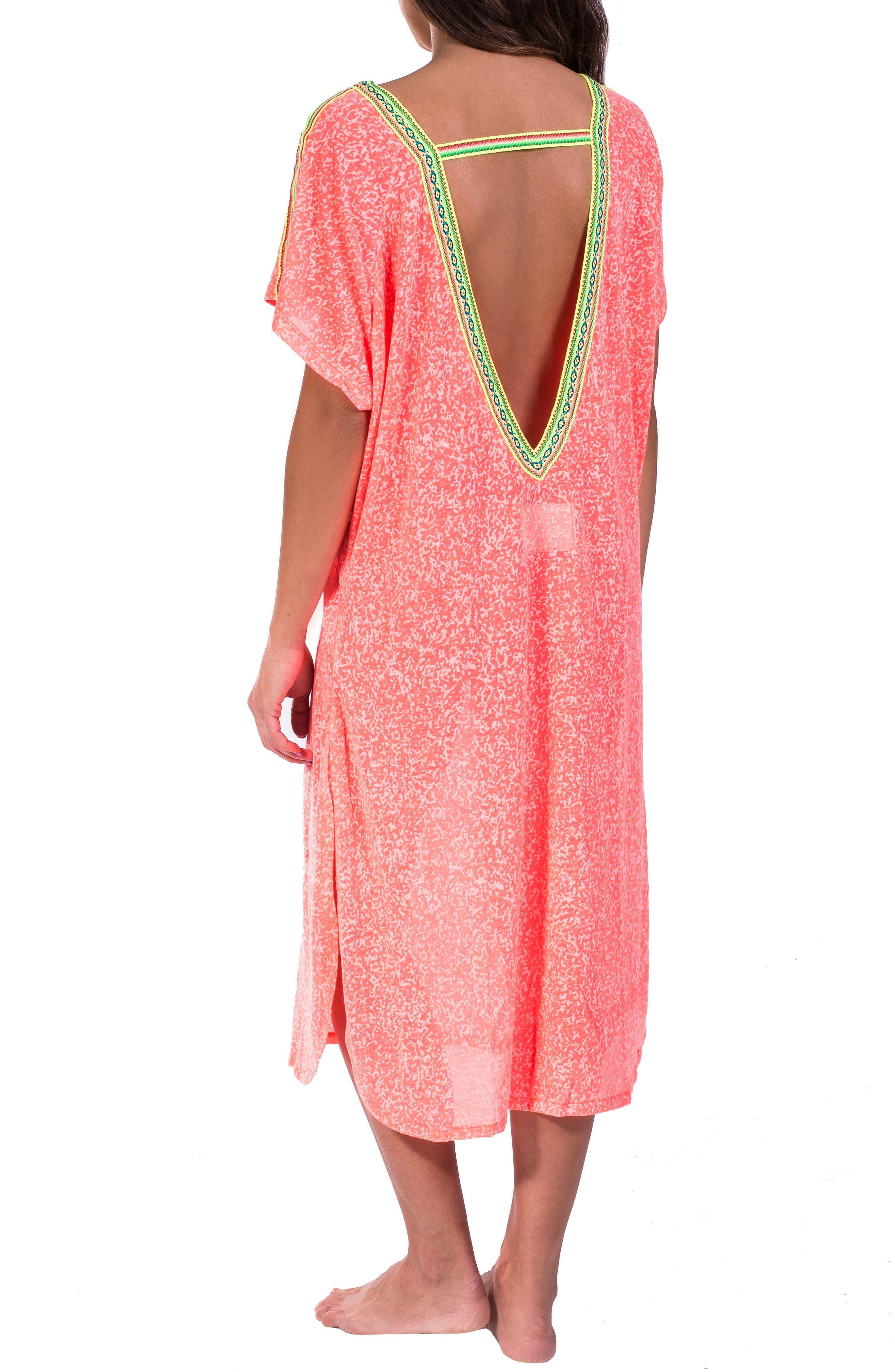 Cover-Up Midi Dress,                             Alternate thumbnail 8, color,