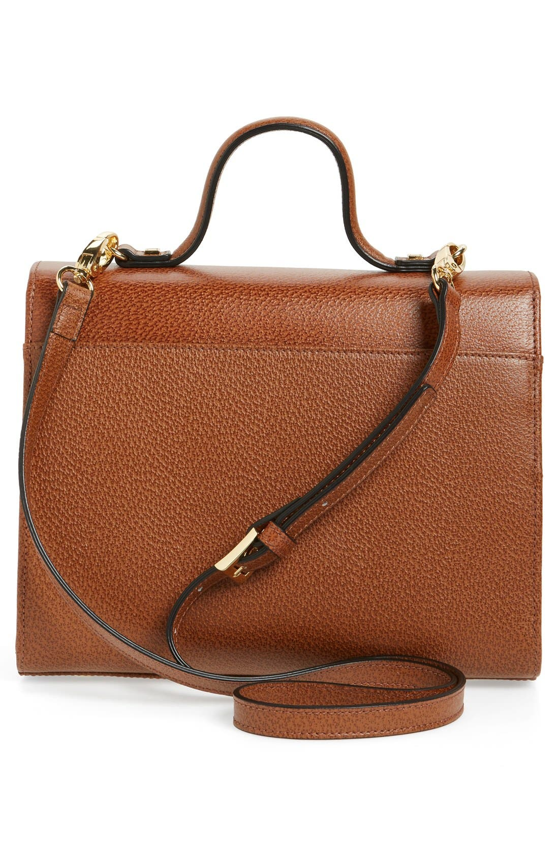 LODIS Stephanie Under Lock & Key - Medium Bree Leather Crossbody Bag,                             Alternate thumbnail 13, color,