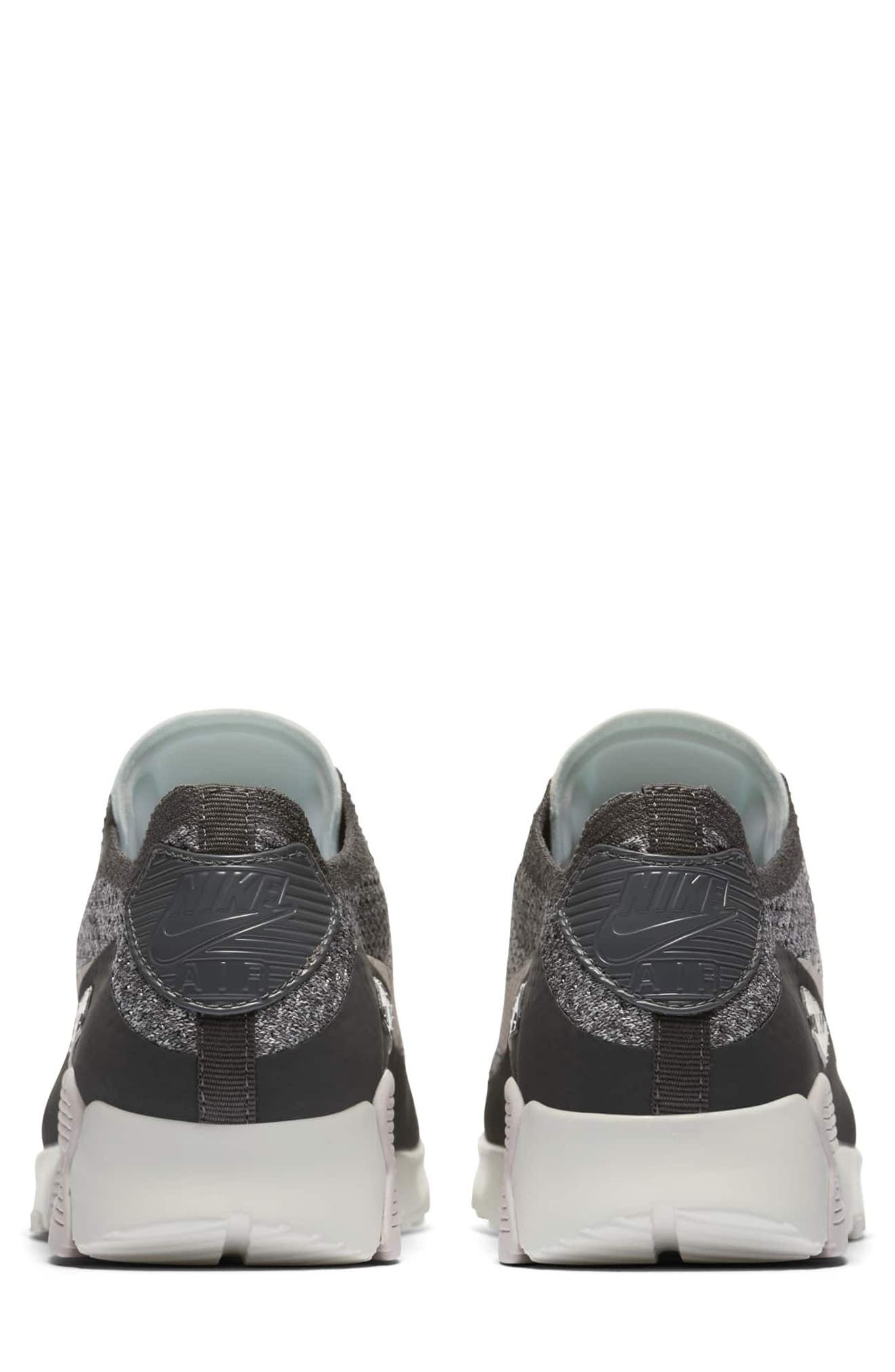Air Max 90 Flyknit Ultra 2.0 Sneaker,                             Alternate thumbnail 5, color,
