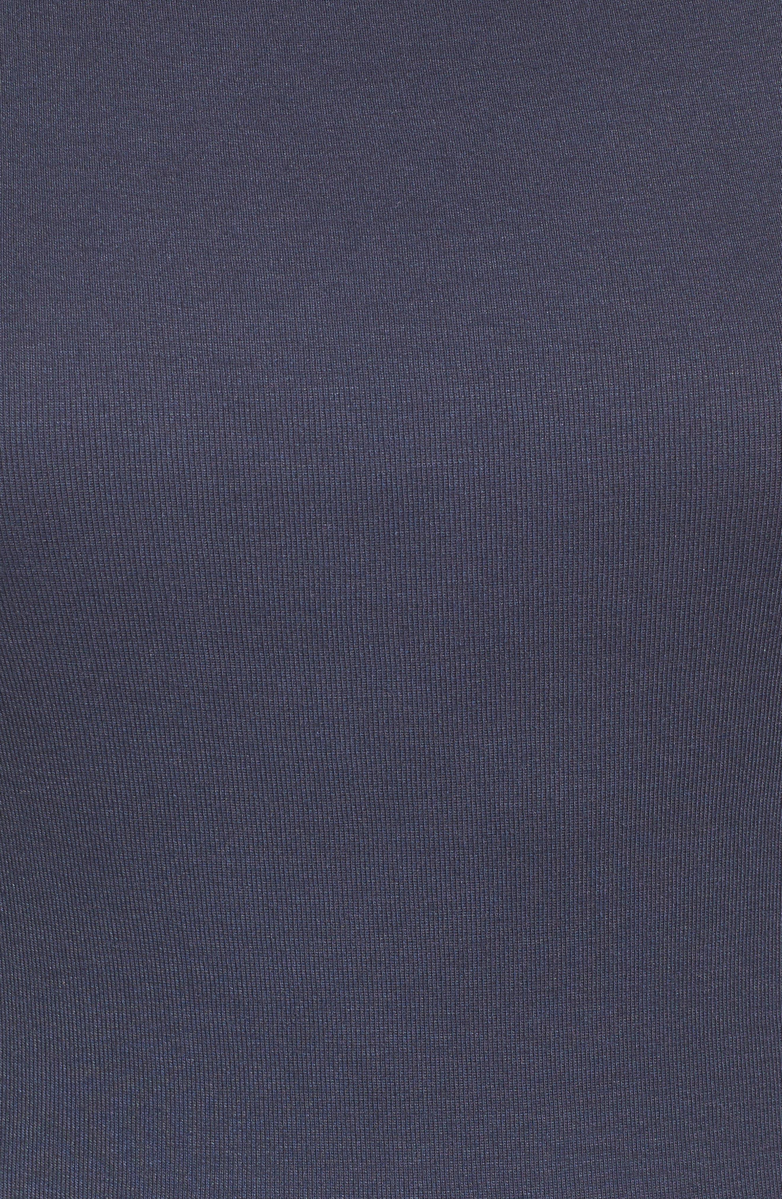 Three Quarter Sleeve Tee,                             Alternate thumbnail 90, color,