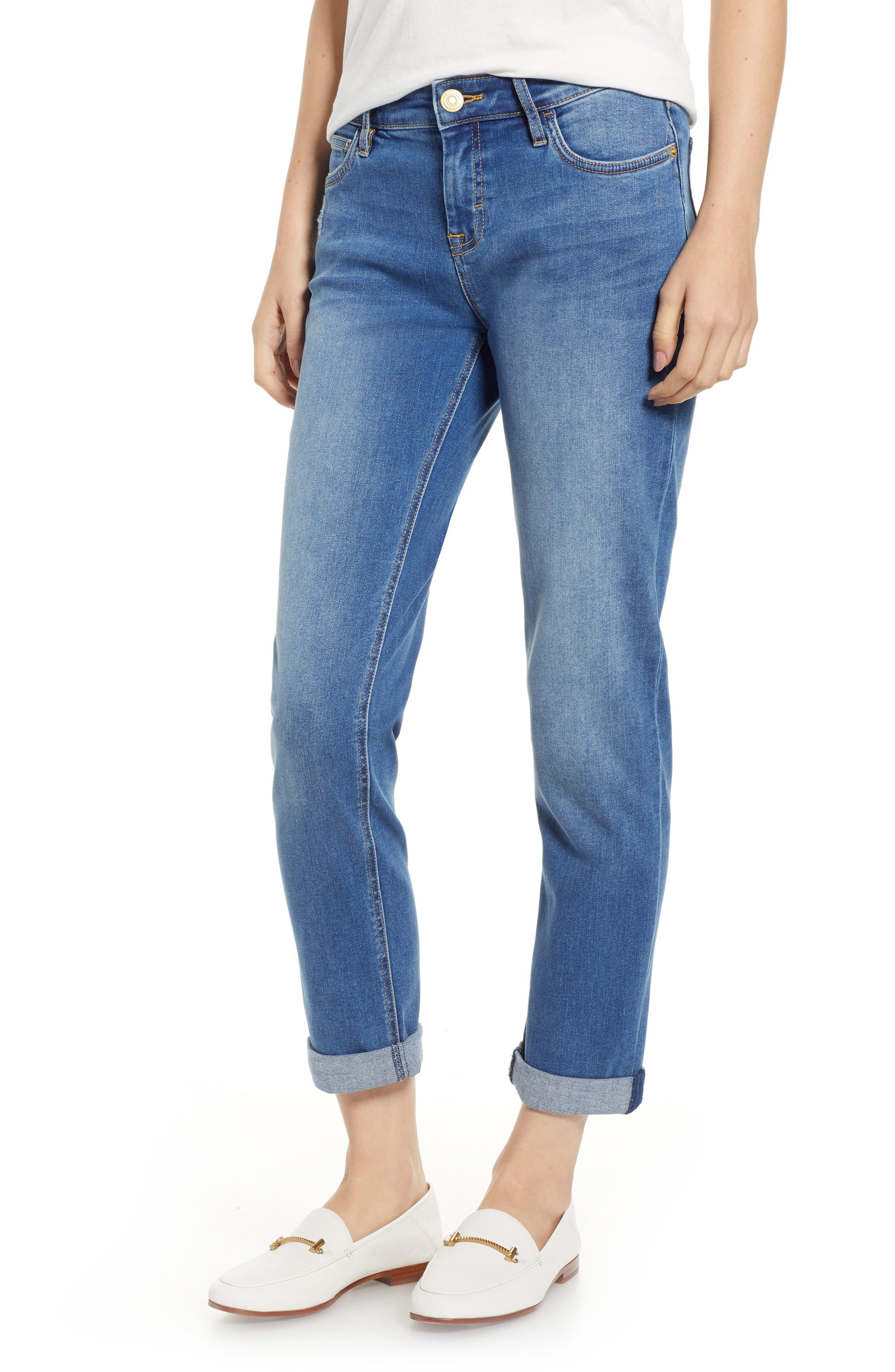 Tema Slim Boyfriend Jeans,                         Main,                         color, MEDIUM BEACH WASH