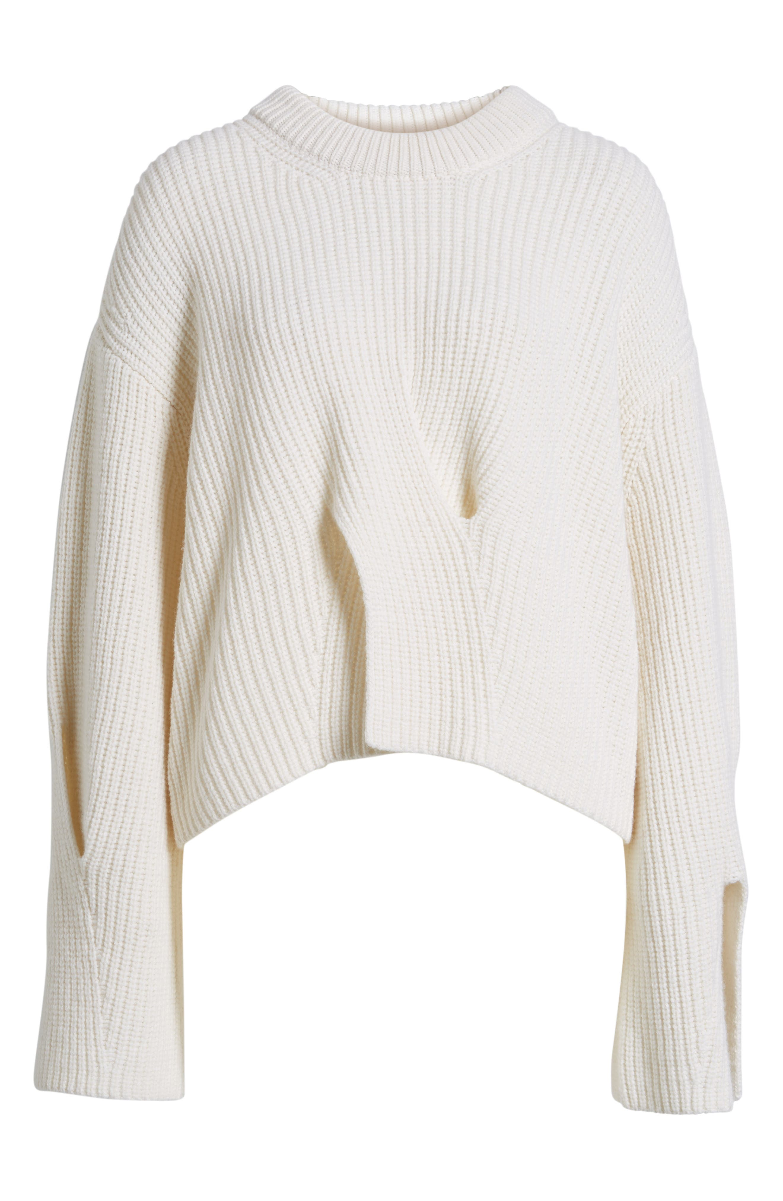 Fihra Wool Blend Sweater,                             Alternate thumbnail 6, color,                             252